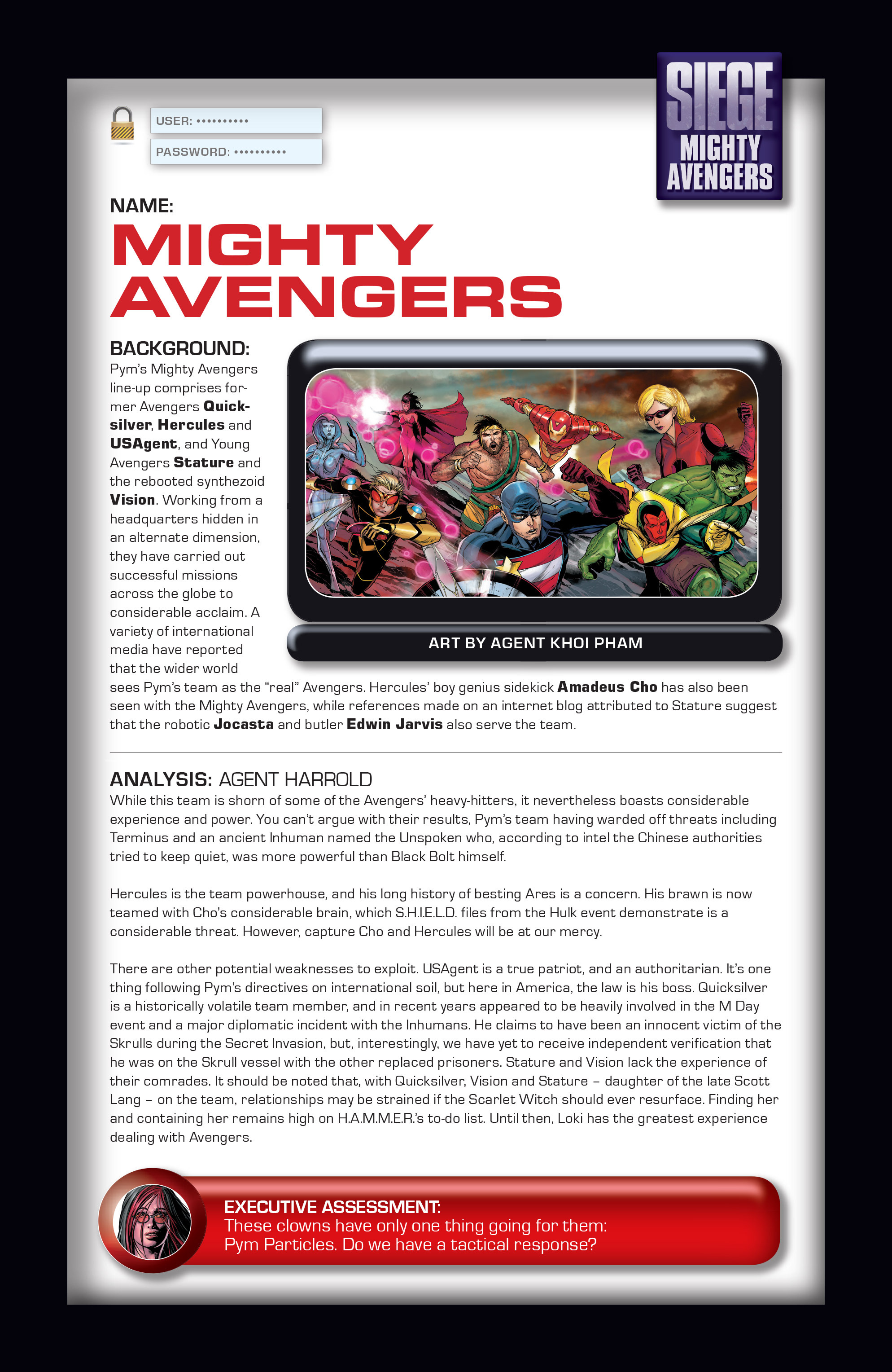 Read online Siege: Storming Asgard - Heroes and Villains comic -  Issue # Full - 20