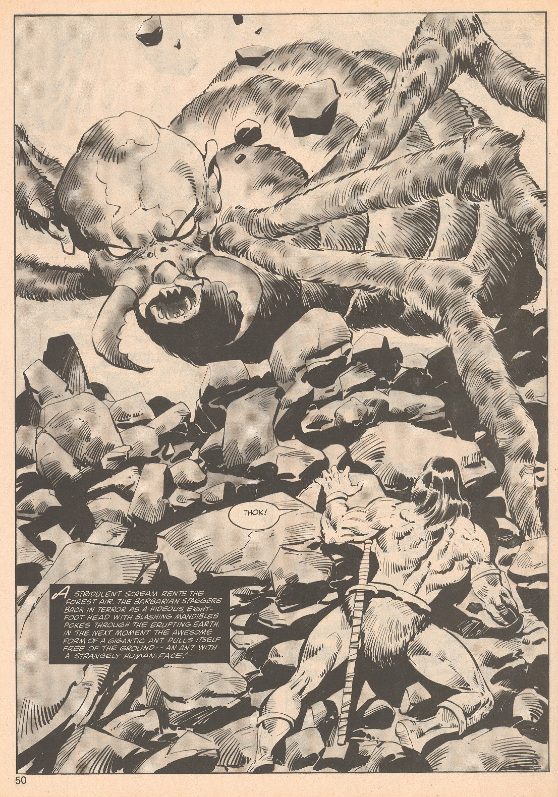 The Savage Sword Of Conan Issue #70 #71 - English 50
