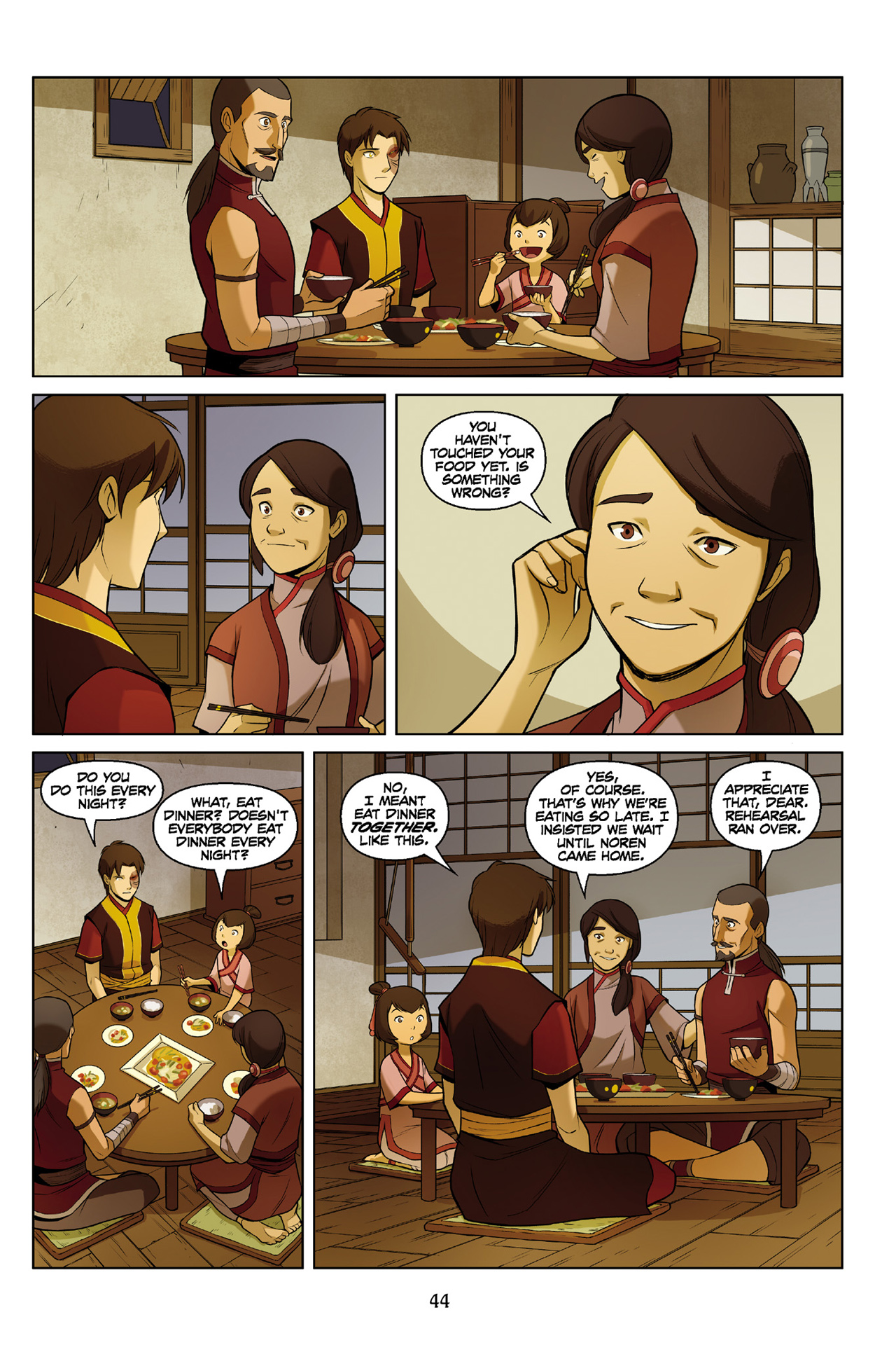 Read online Nickelodeon Avatar: The Last Airbender - The Search comic -  Issue # Part 3 - 45