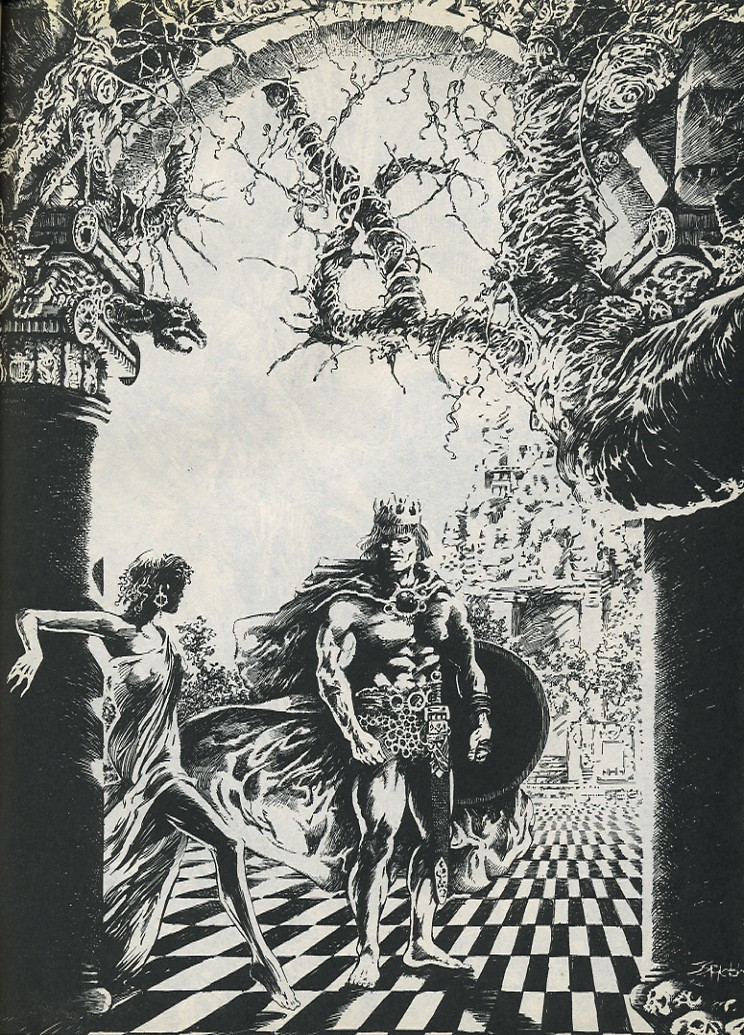 The Savage Sword Of Conan Issue #194 #195 - English 59