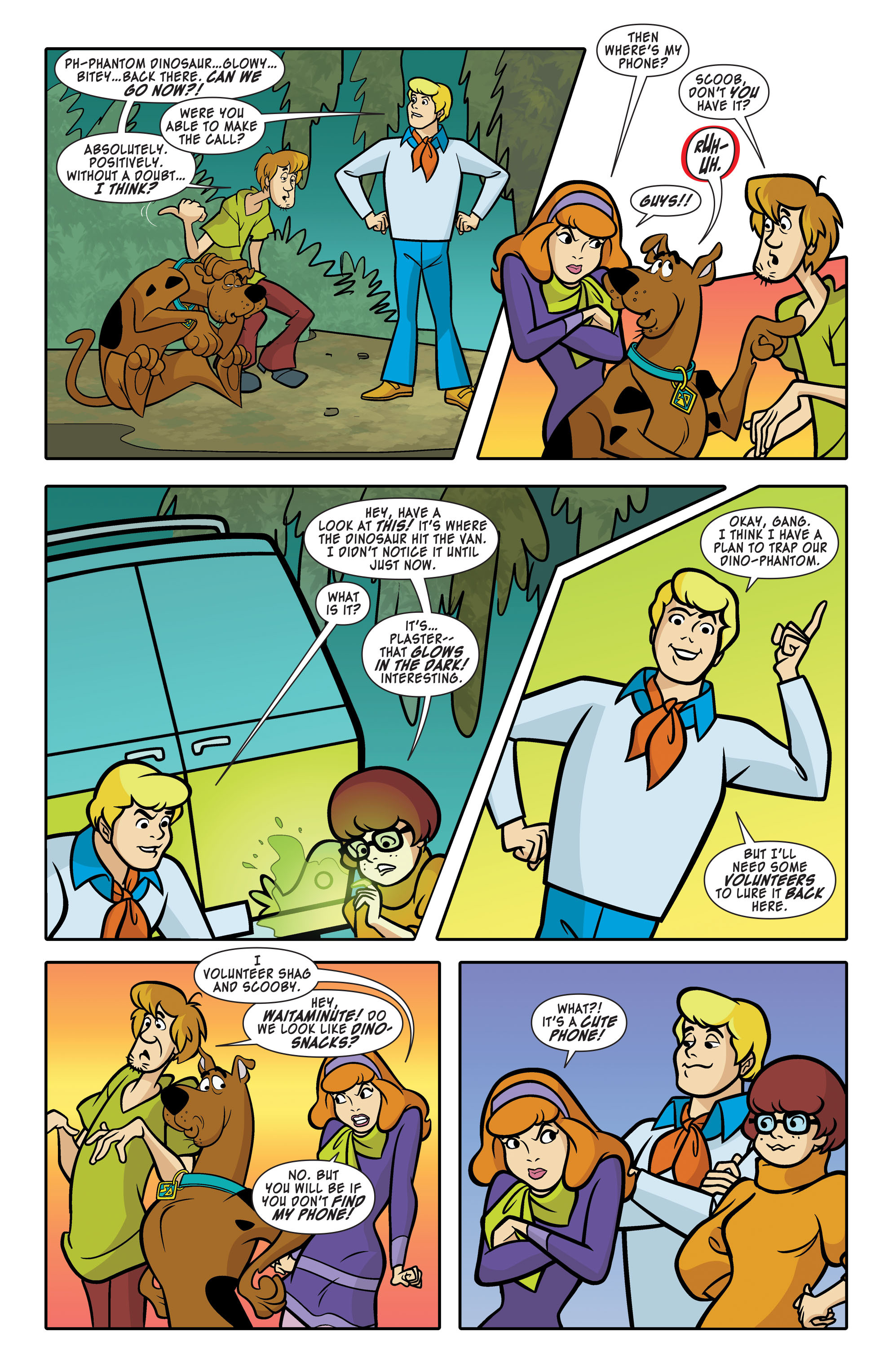 Read online Scooby-Doo: Where Are You? comic -  Issue #63 - 8
