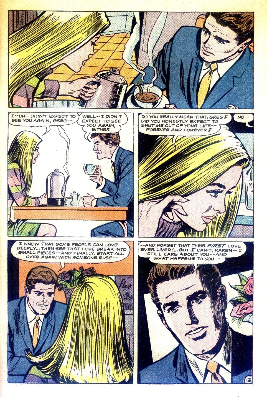 Read online Secret Hearts comic -  Issue #126 - 31