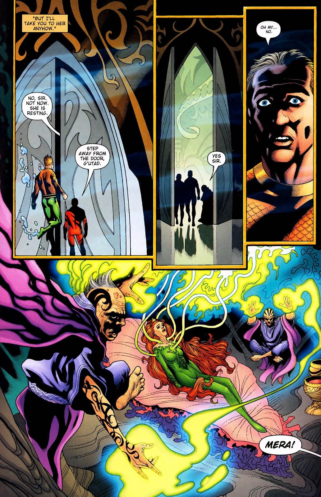 Aquaman (2003) Issue #33 #33 - English 21