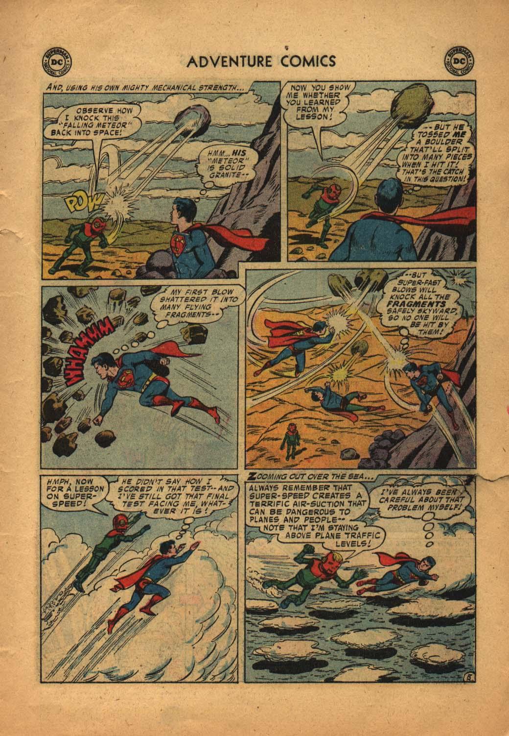 Read online Adventure Comics (1938) comic -  Issue #240 - 7