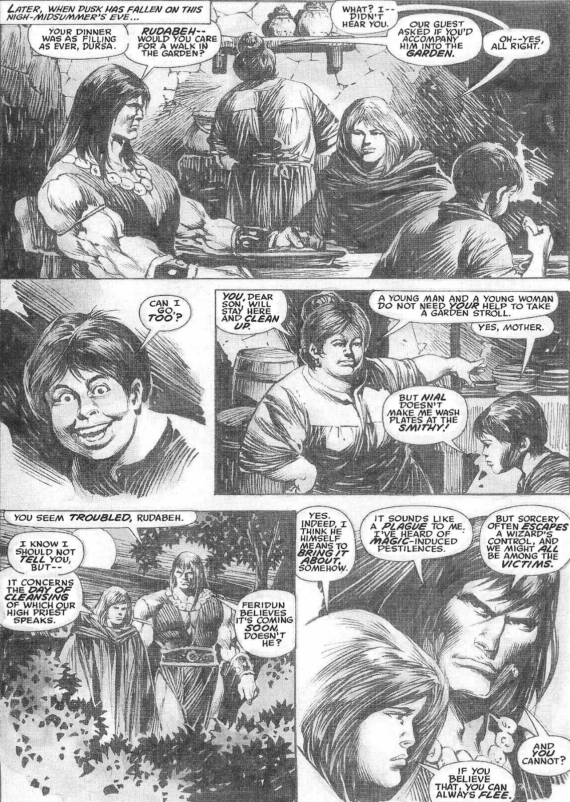 The Savage Sword Of Conan Issue #209 #210 - English 12