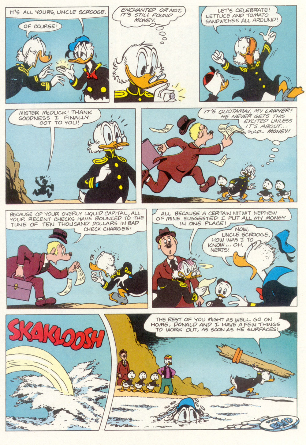 Uncle Scrooge (1953) Issue #267 #267 - English 20