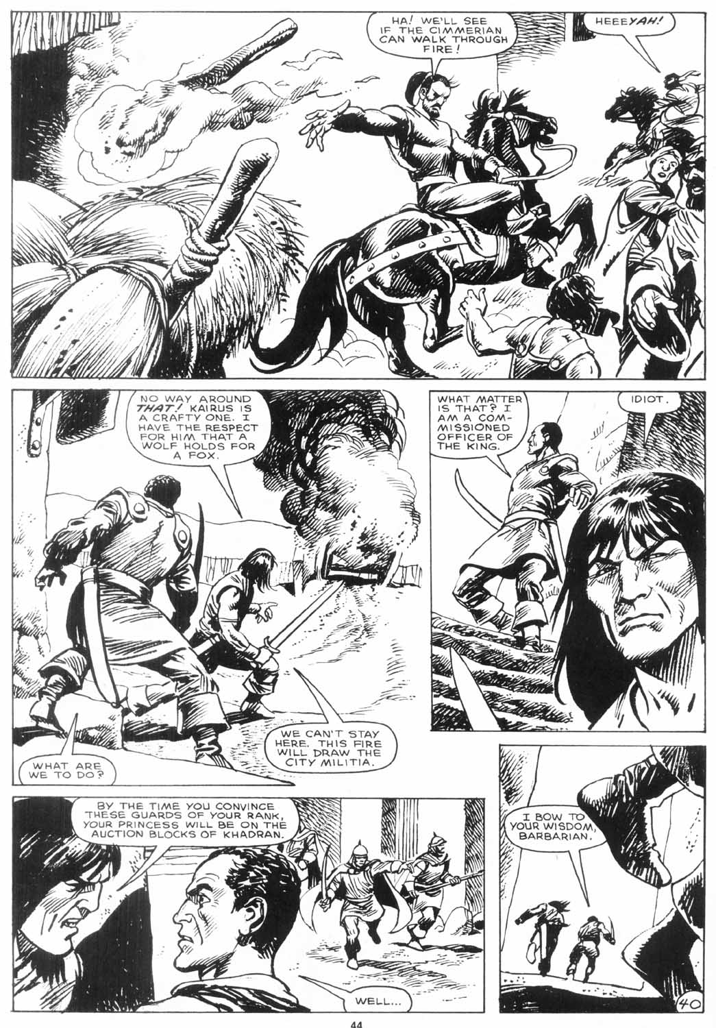 The Savage Sword Of Conan Issue #156 #157 - English 43