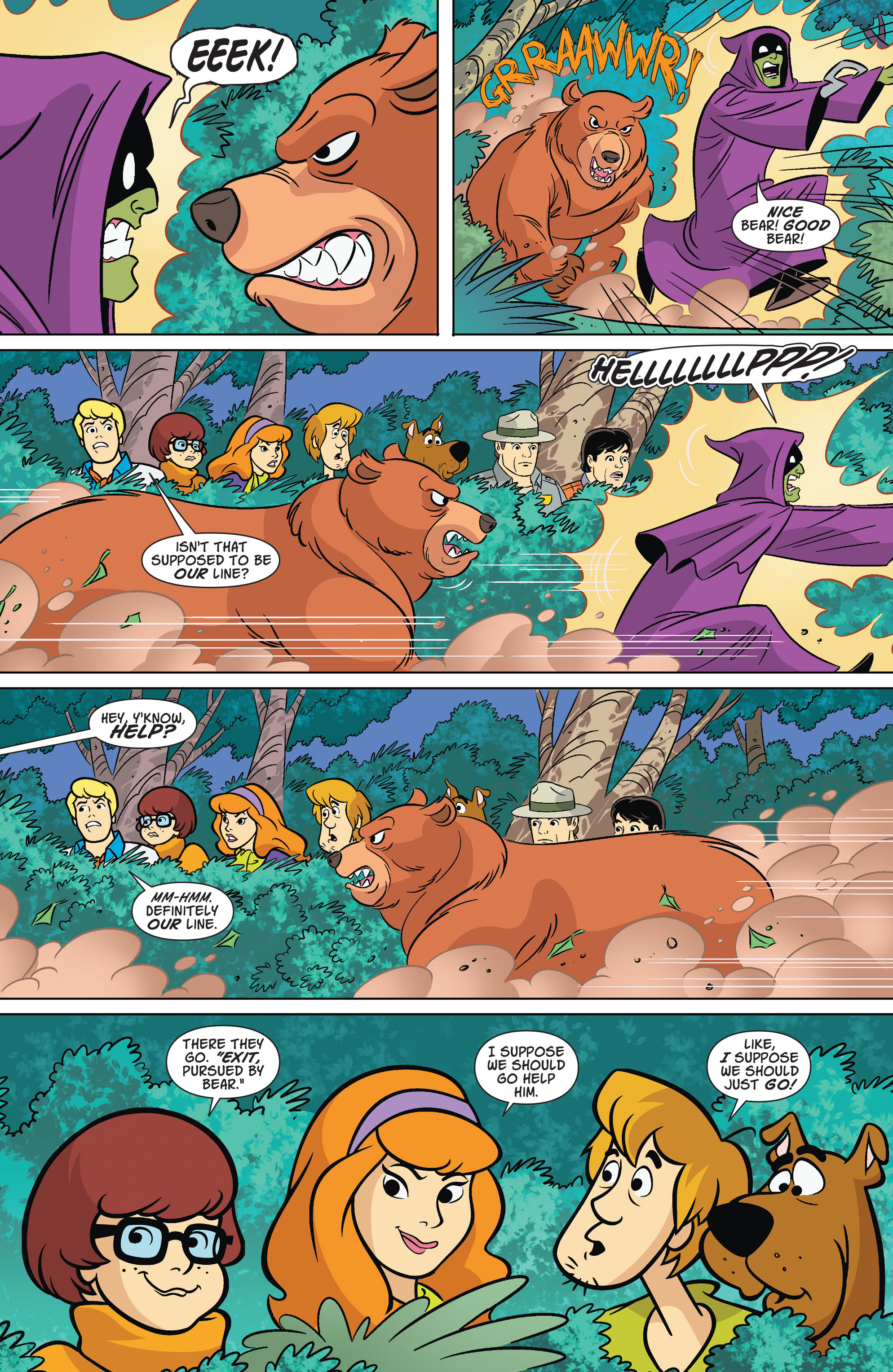 Read online Scooby-Doo: Where Are You? comic -  Issue #67 - 9