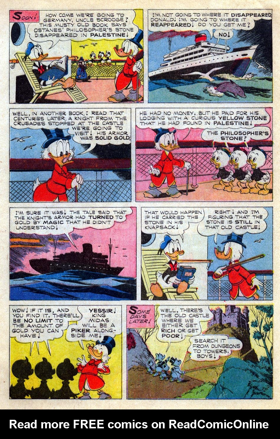 Uncle Scrooge (1953) Issue #67 #67 - English 4