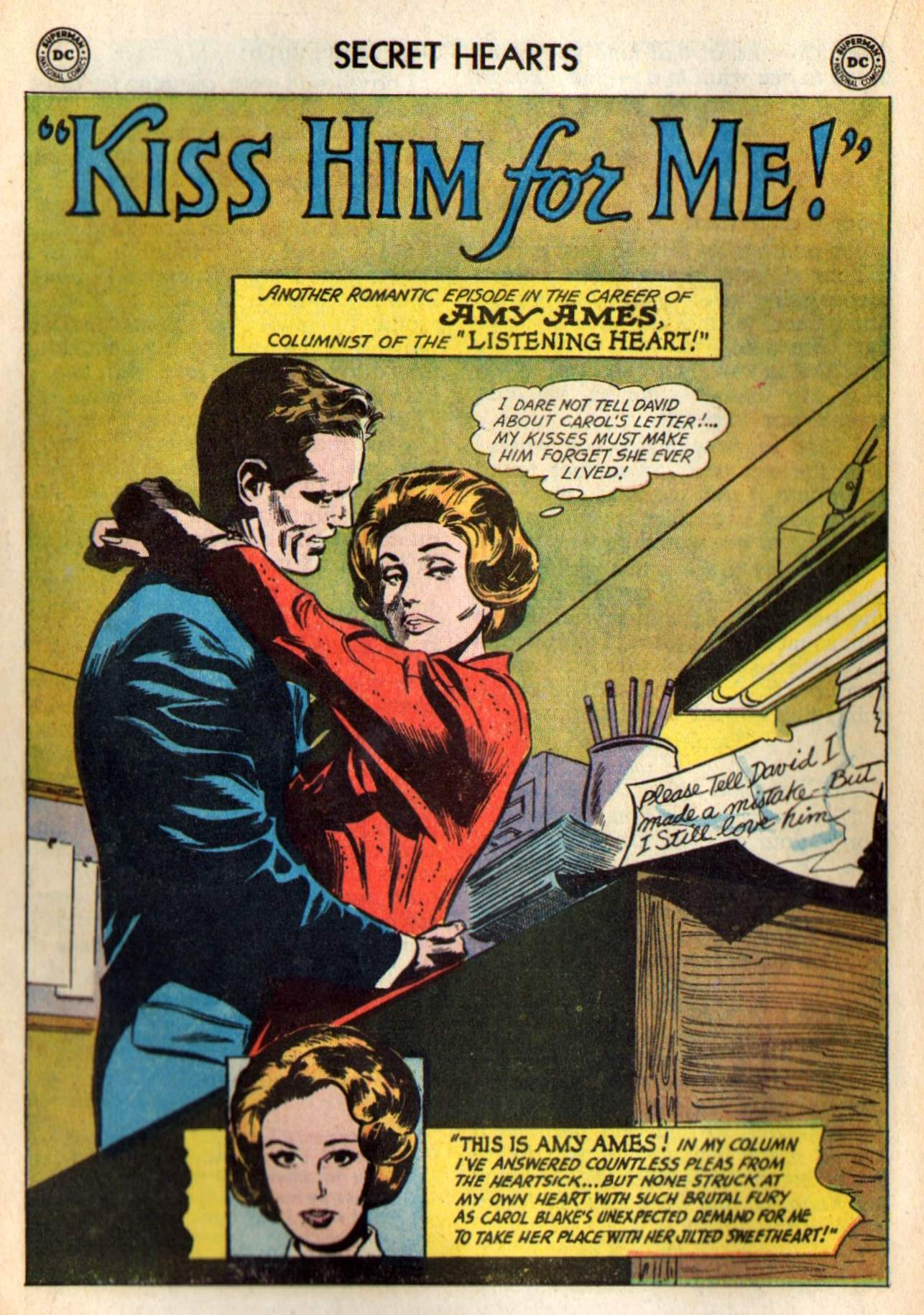 Read online Secret Hearts comic -  Issue #98 - 20
