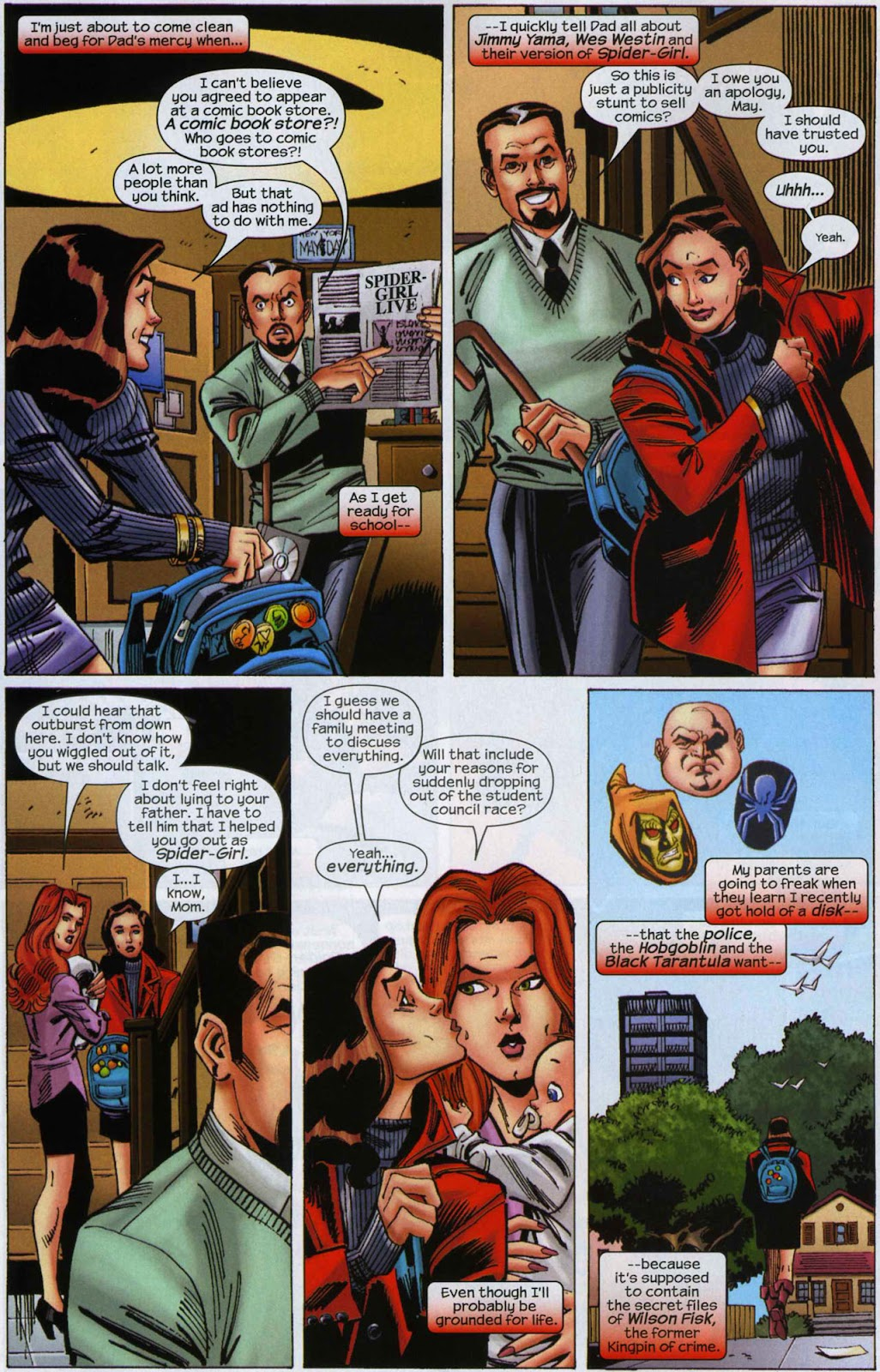 Amazing Spider-Girl Issue #6 #7 - English 5