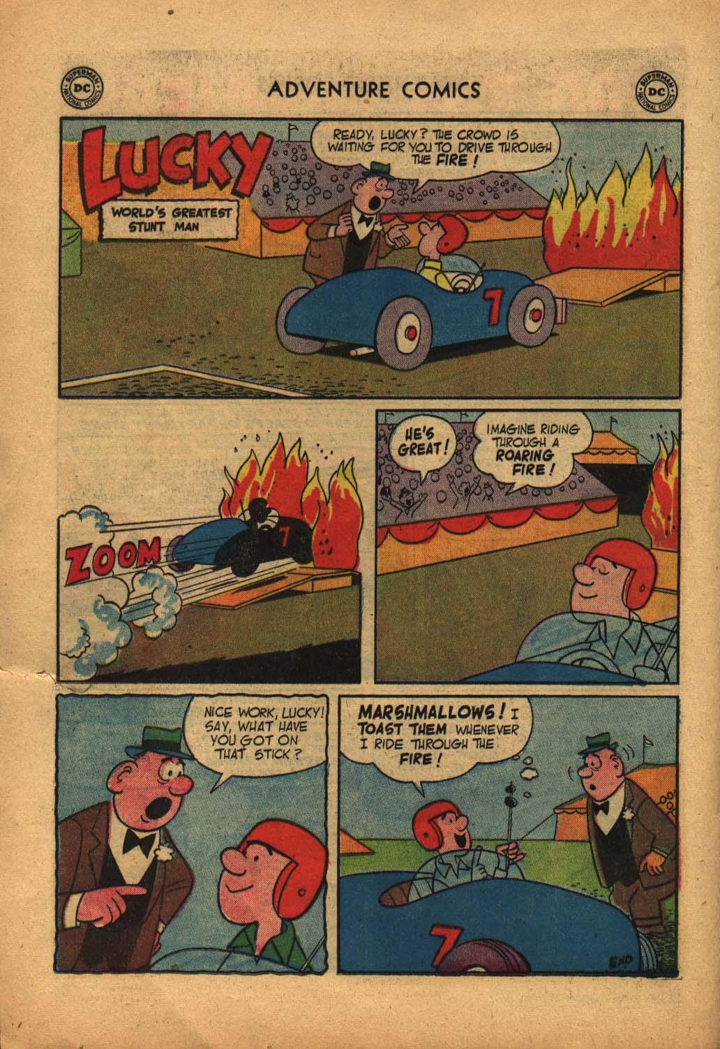Read online Adventure Comics (1938) comic -  Issue #240 - 24
