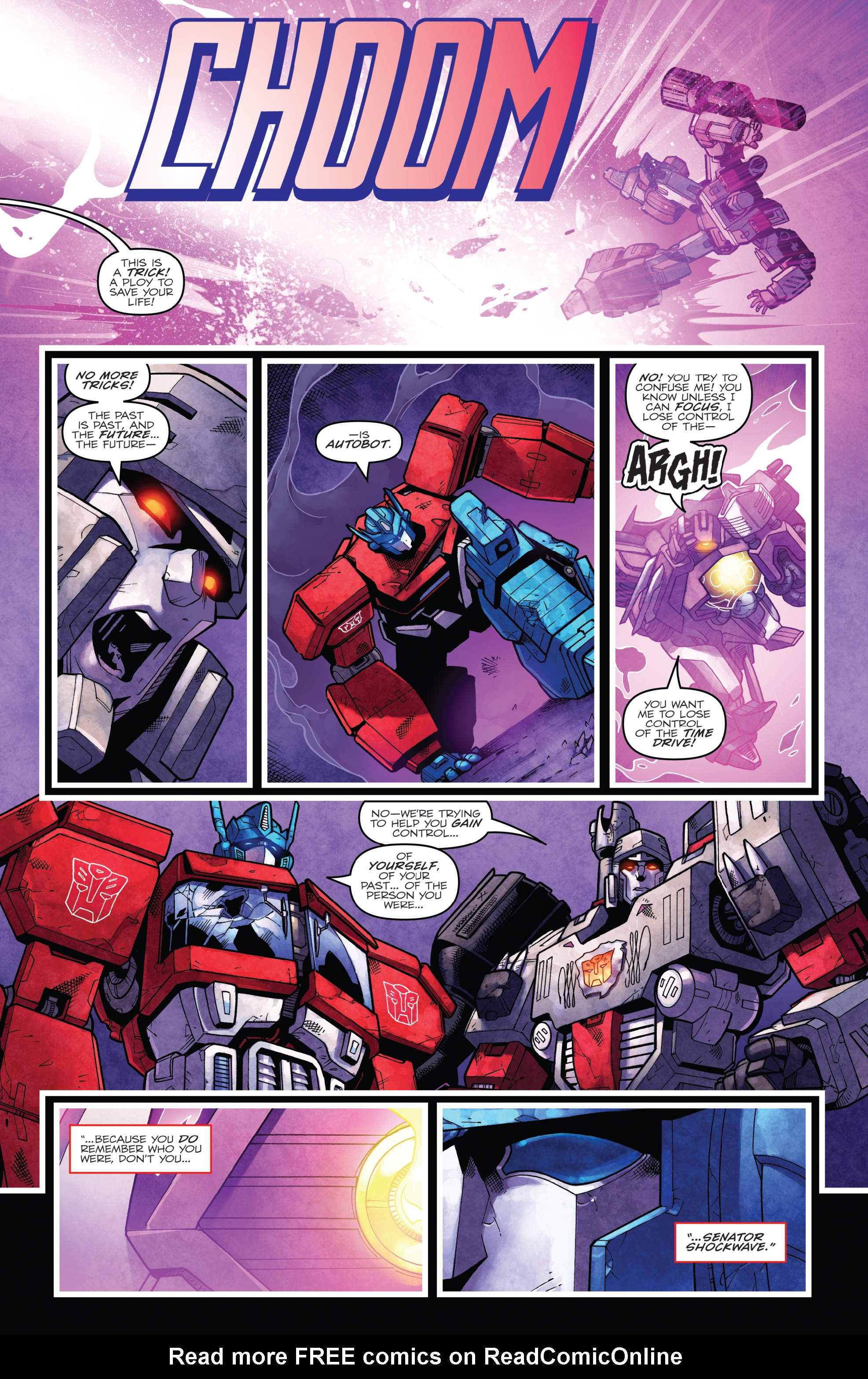 Read online The Transformers: Dark Cybertron Finale comic -  Issue # Full - 140