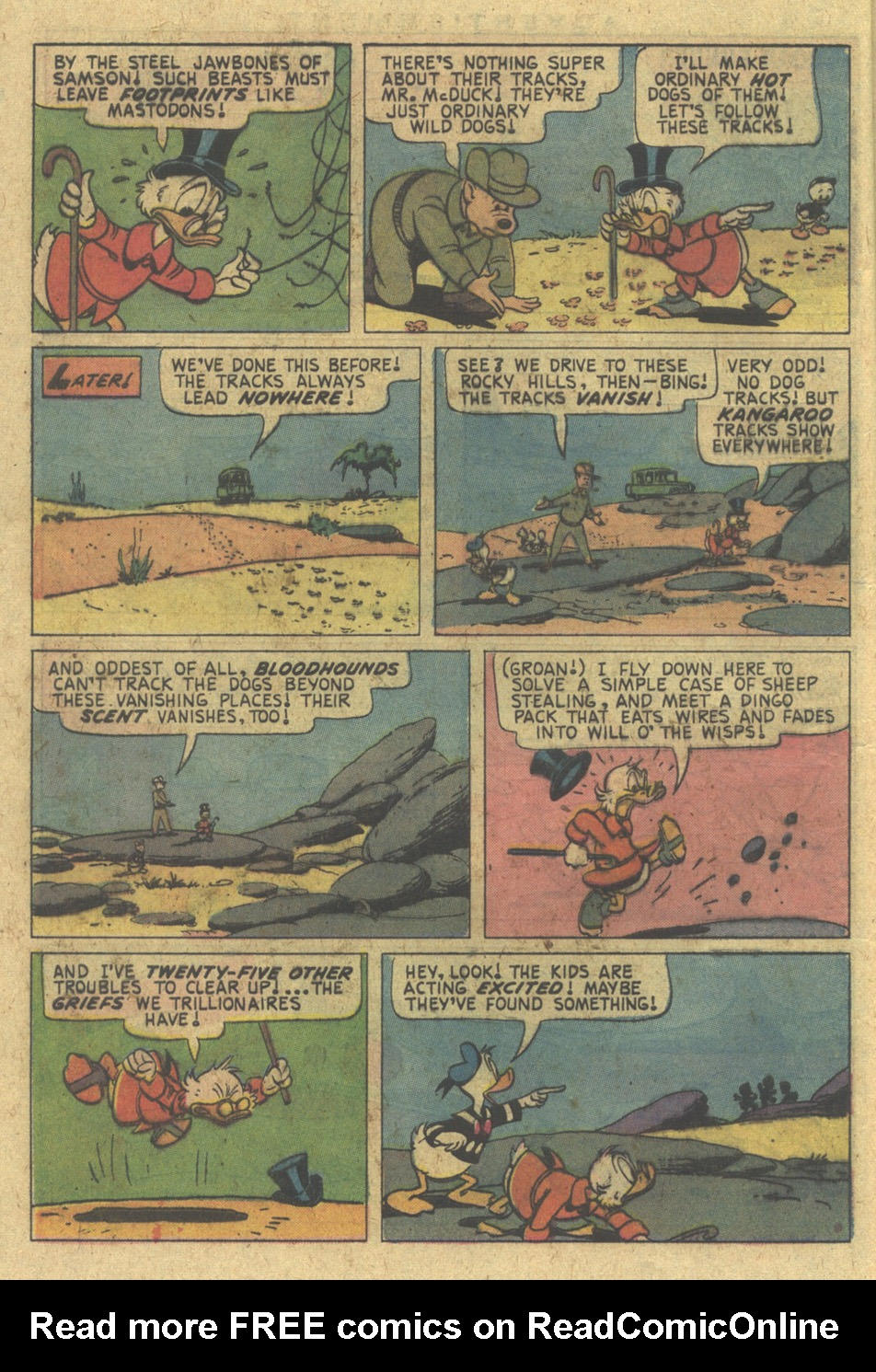 Uncle Scrooge (1953) Issue #128 #128 - English 8