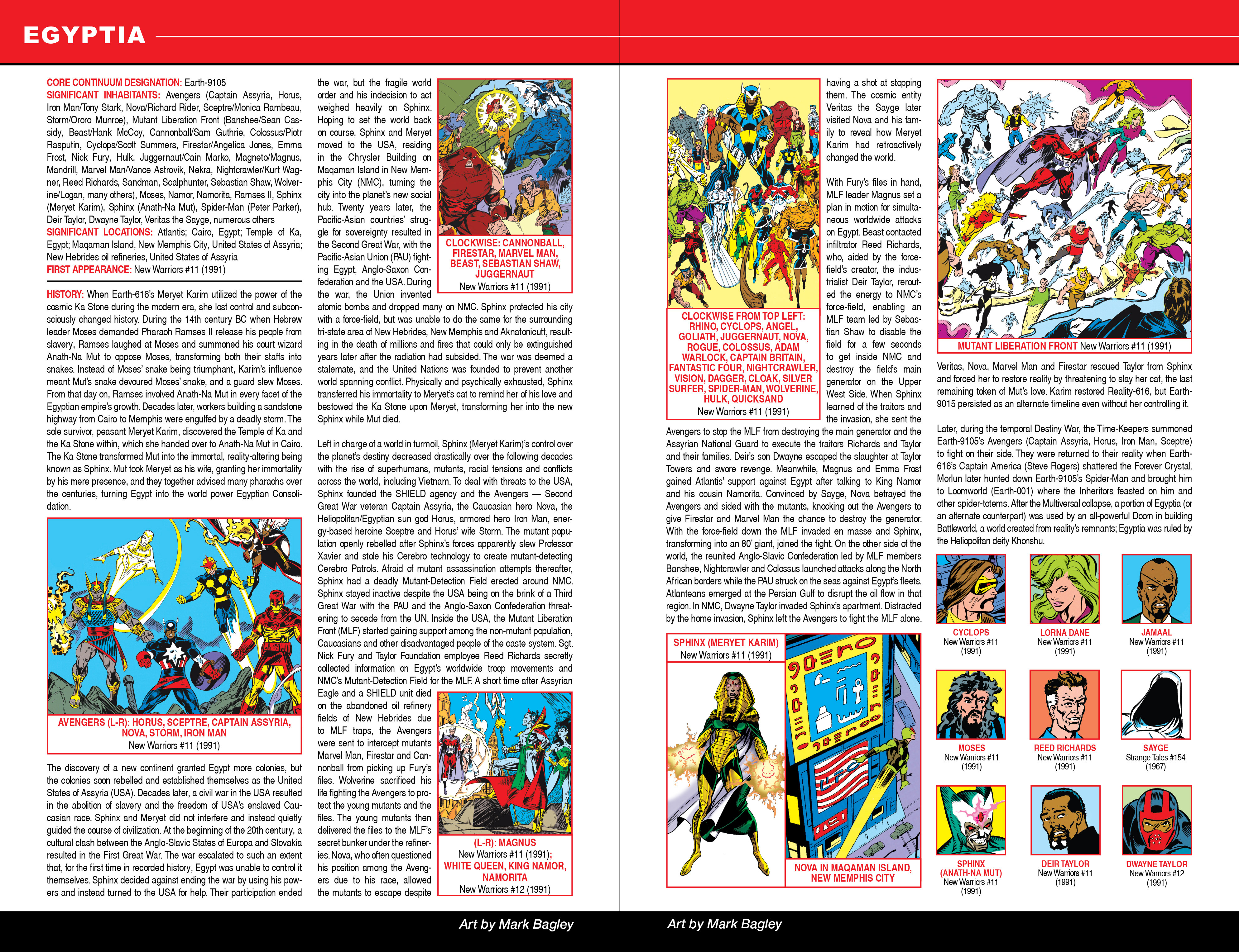 Read online Secret Wars: Official Guide to the Marvel Multiverse comic -  Issue # Full - 7