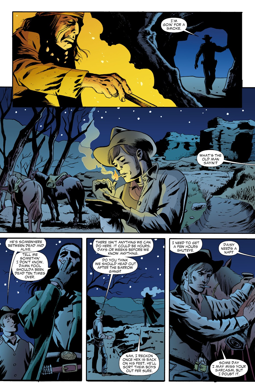Jonah Hex (2006) Issue #70 #70 - English 16