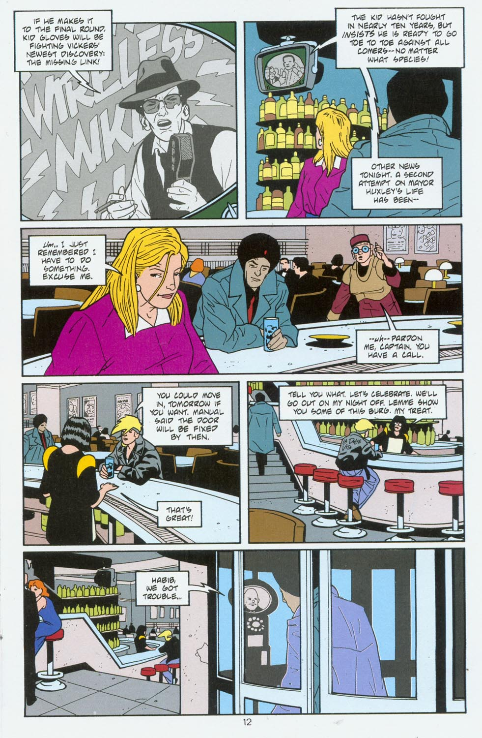 Read online Terminal City comic -  Issue #6 - 13