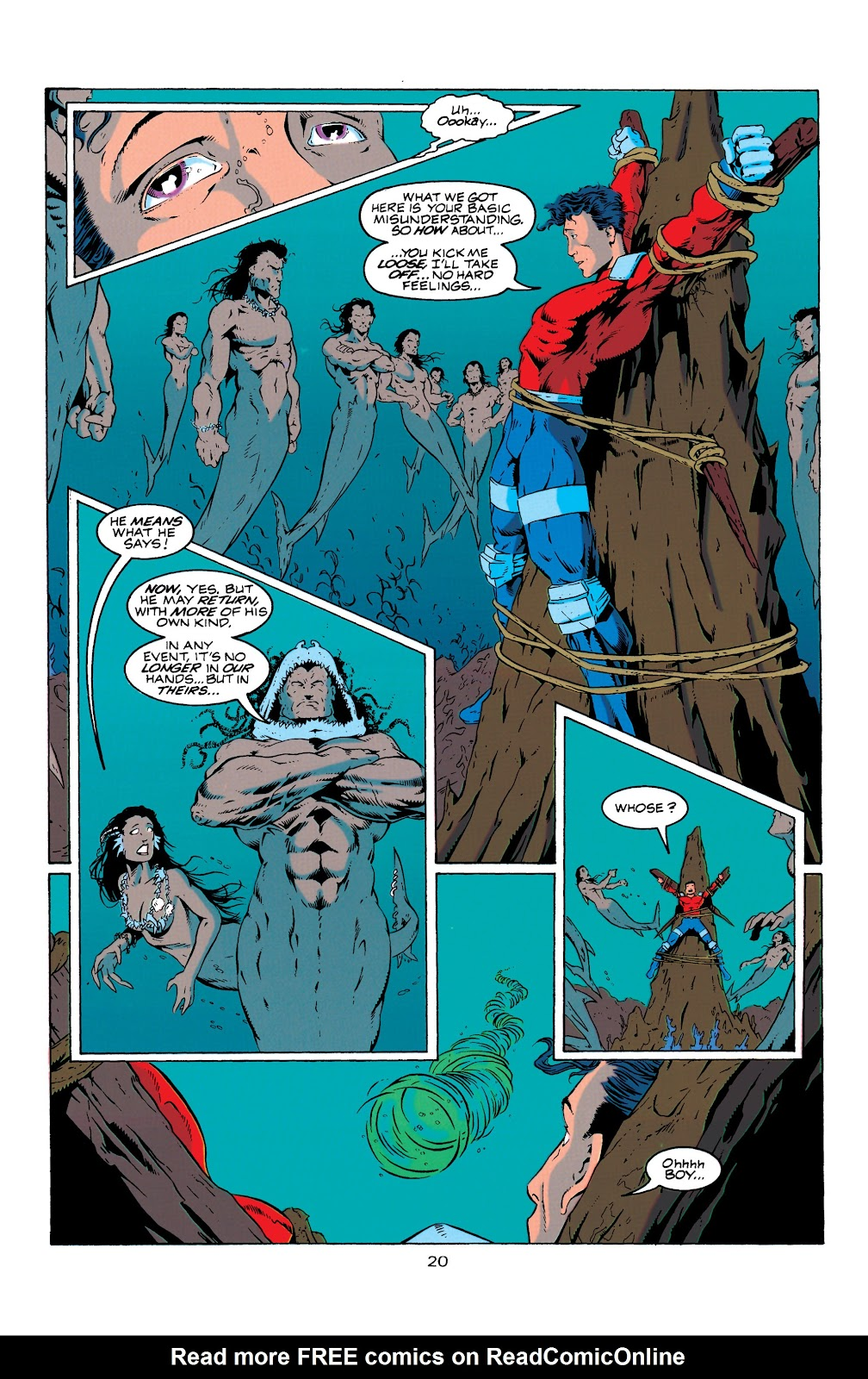 Aquaman (1994) Issue #7 #13 - English 21