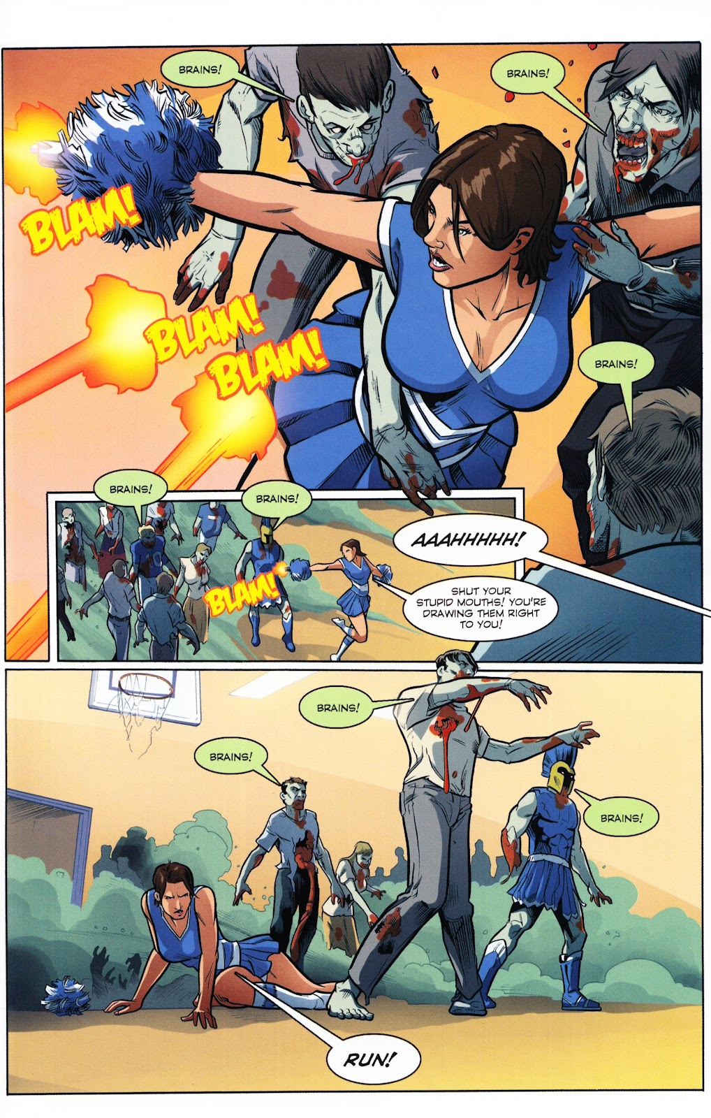 Zombies vs Cheerleaders Issue #2 Page 26