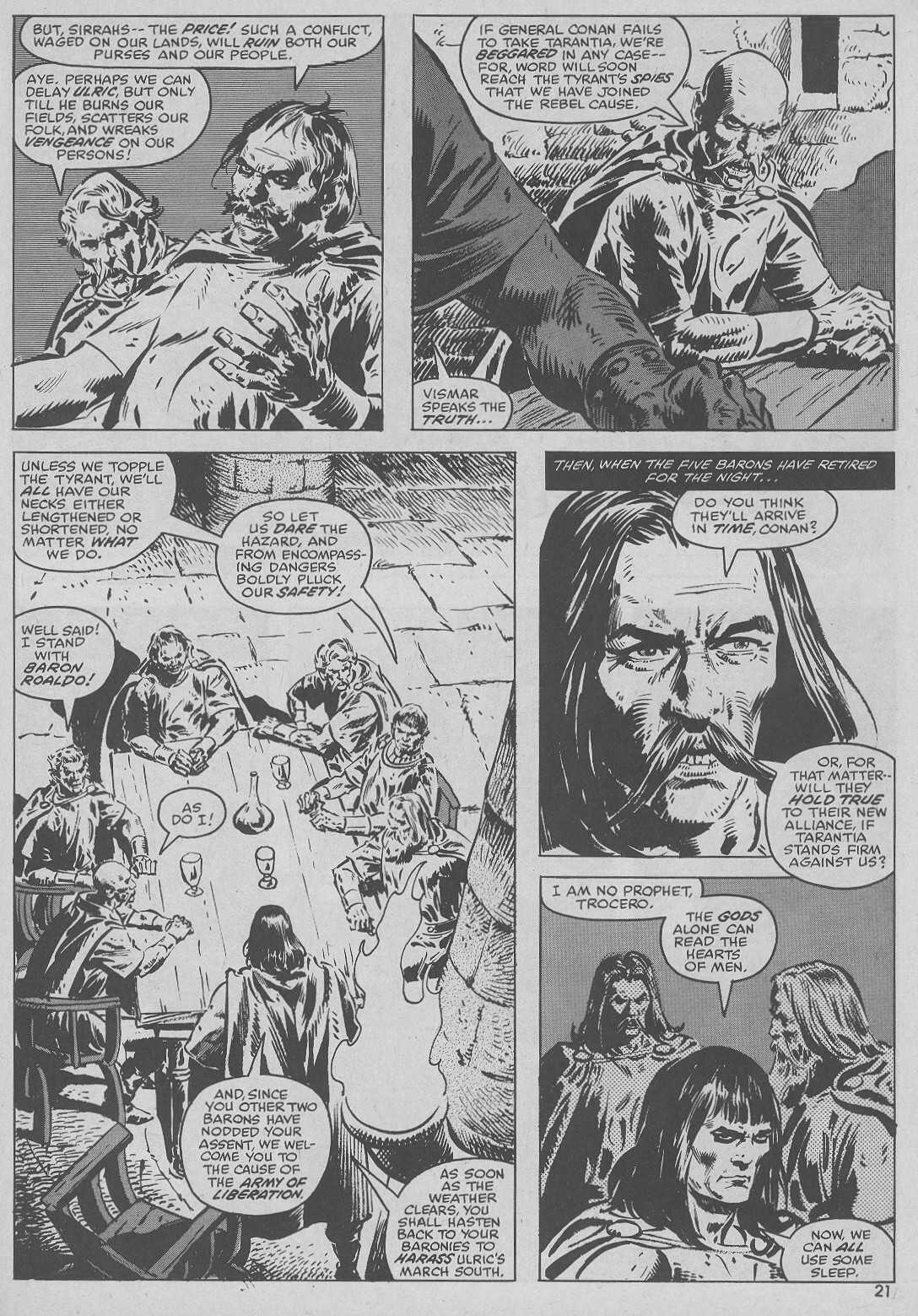 The Savage Sword Of Conan Issue #51 #52 - English 21