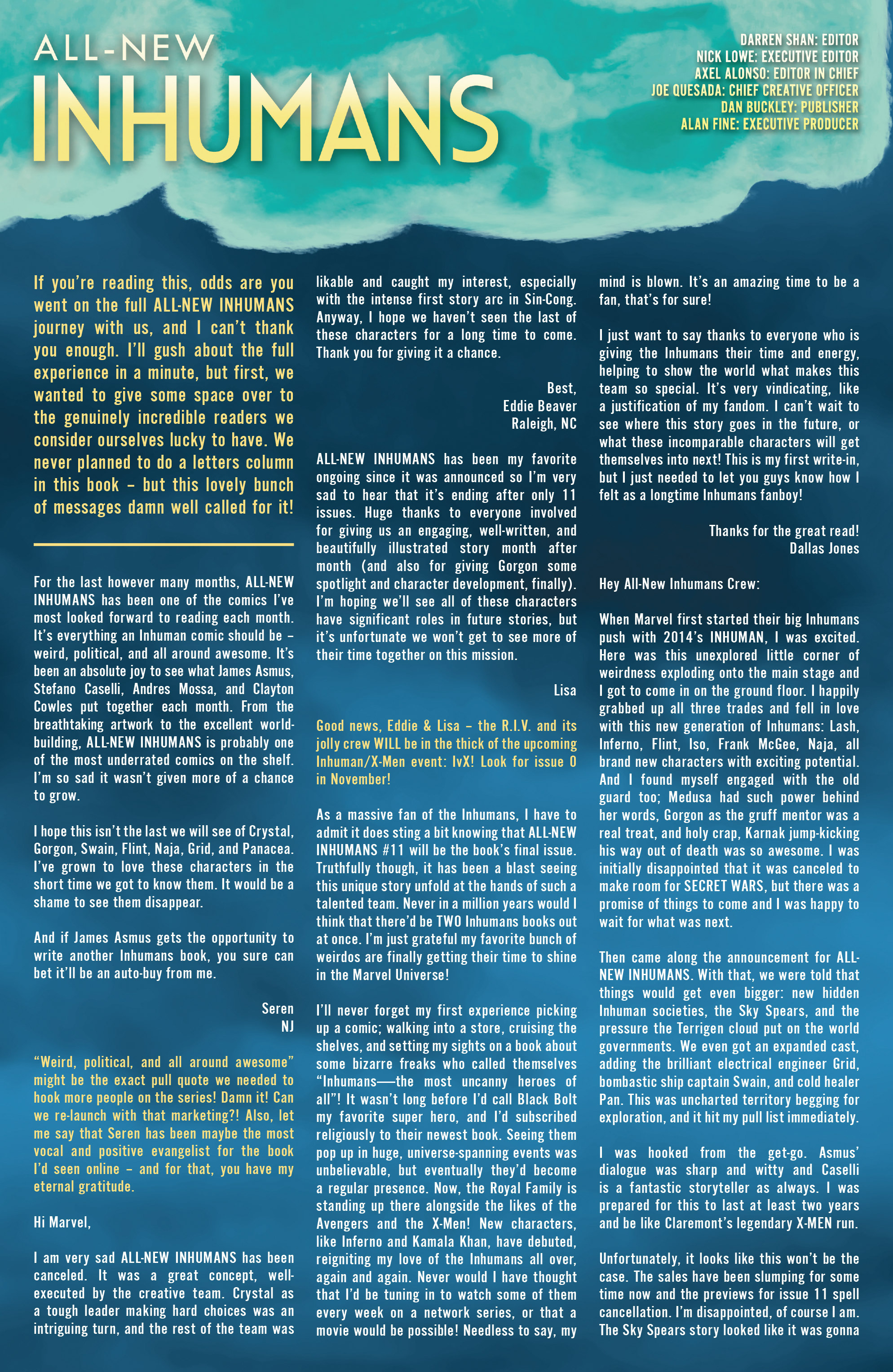 All-New Inhumans #11 #11 - English 23
