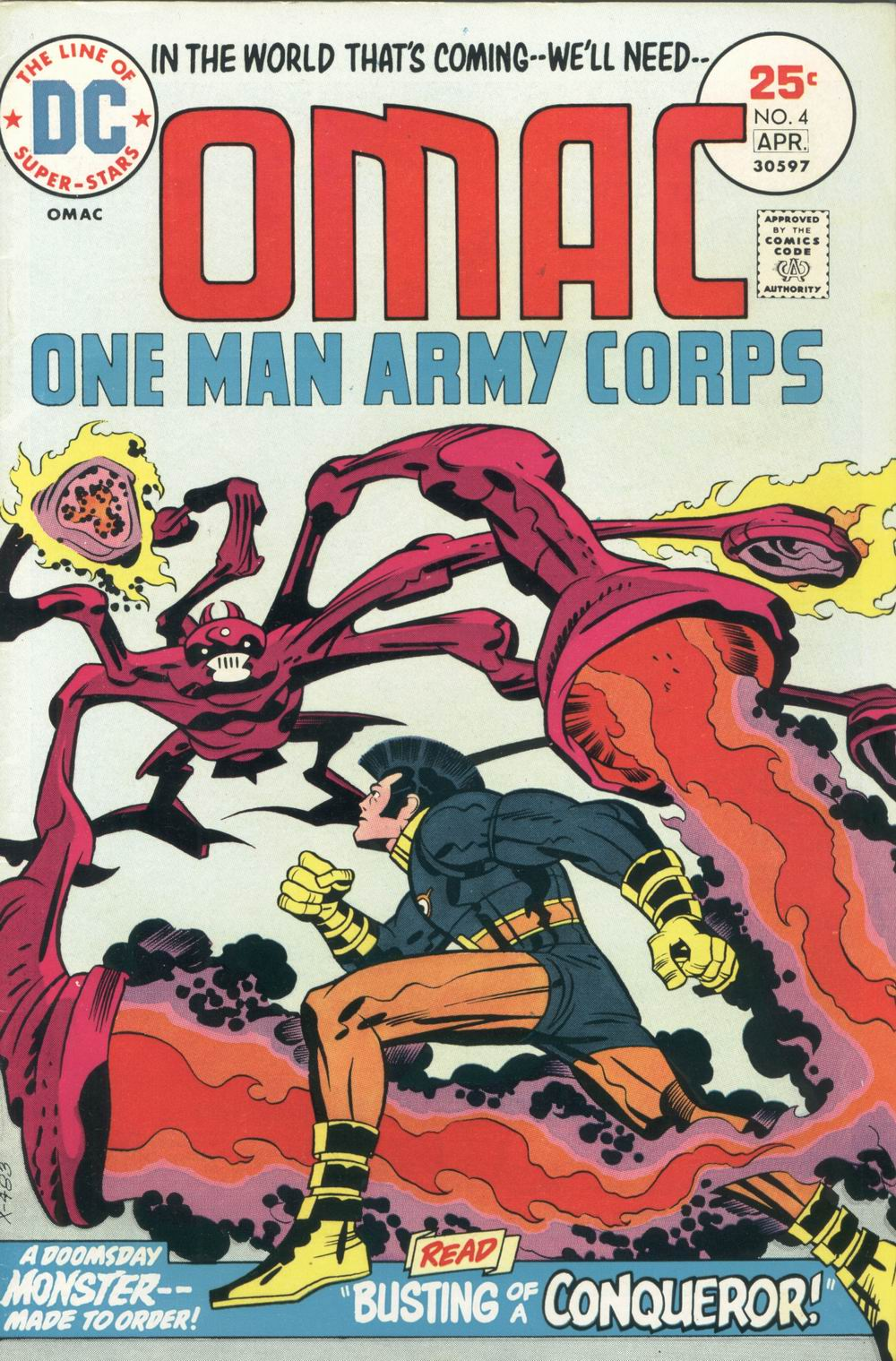 OMAC (1974) 4 Page 1