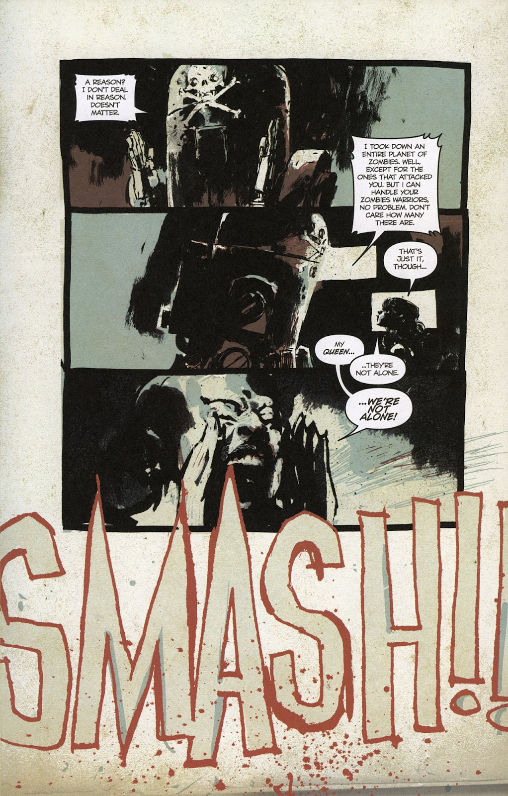Zombies vs. Robots vs. Amazons Issue #1 Page 22