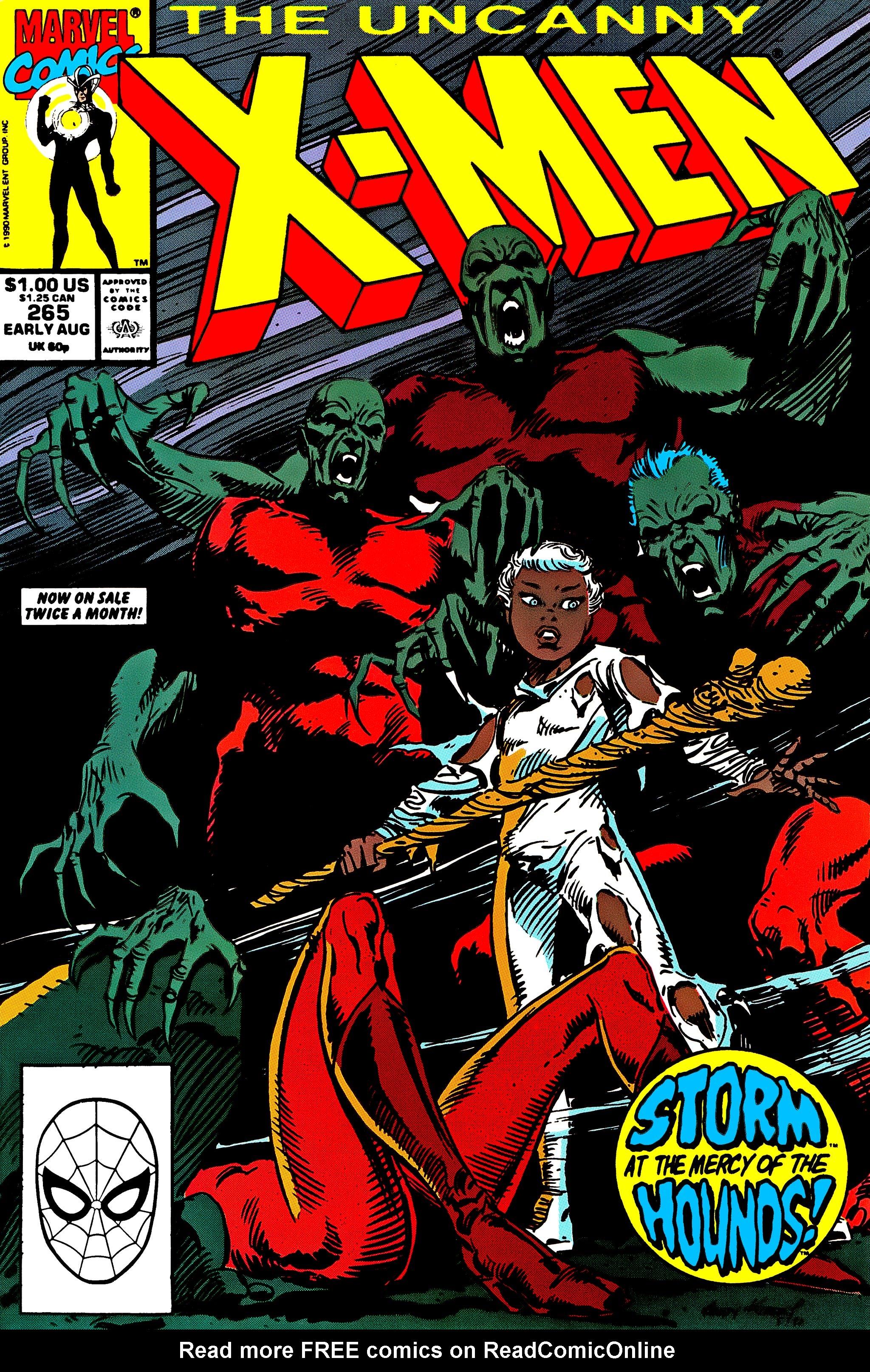Uncanny X-Men (1963) 265 Page 1