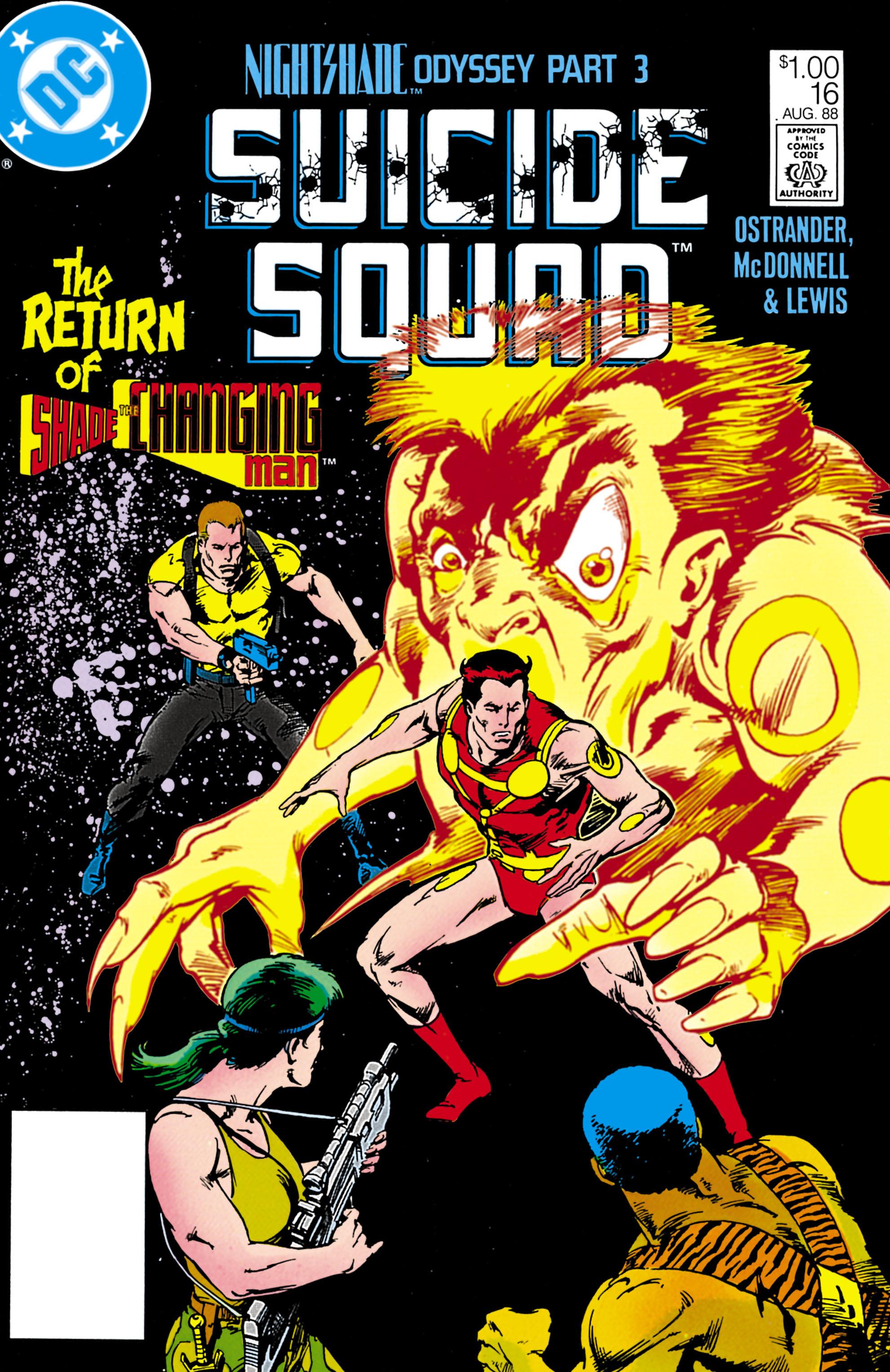 Suicide Squad (1987) 16 Page 1