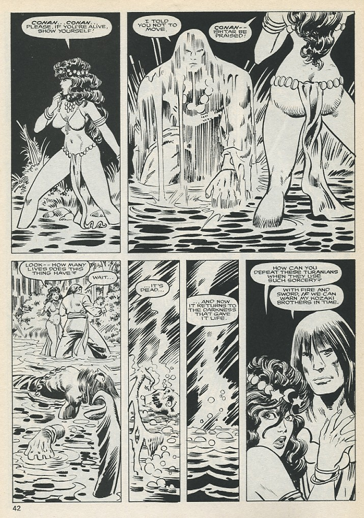 The Savage Sword Of Conan Issue #131 #132 - English 42