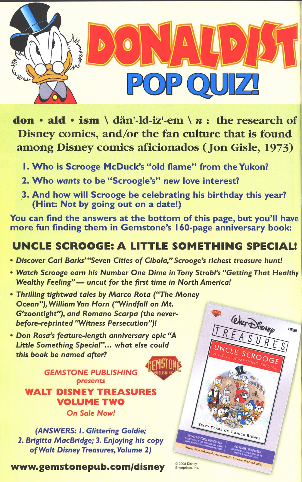 Uncle Scrooge (1953) Issue #374 #374 - English 62