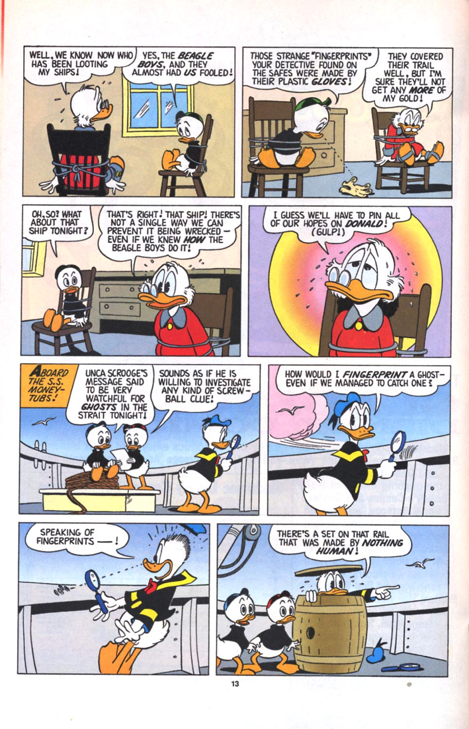 ll>Uncle Scrooge (1953)  #125 - English 14