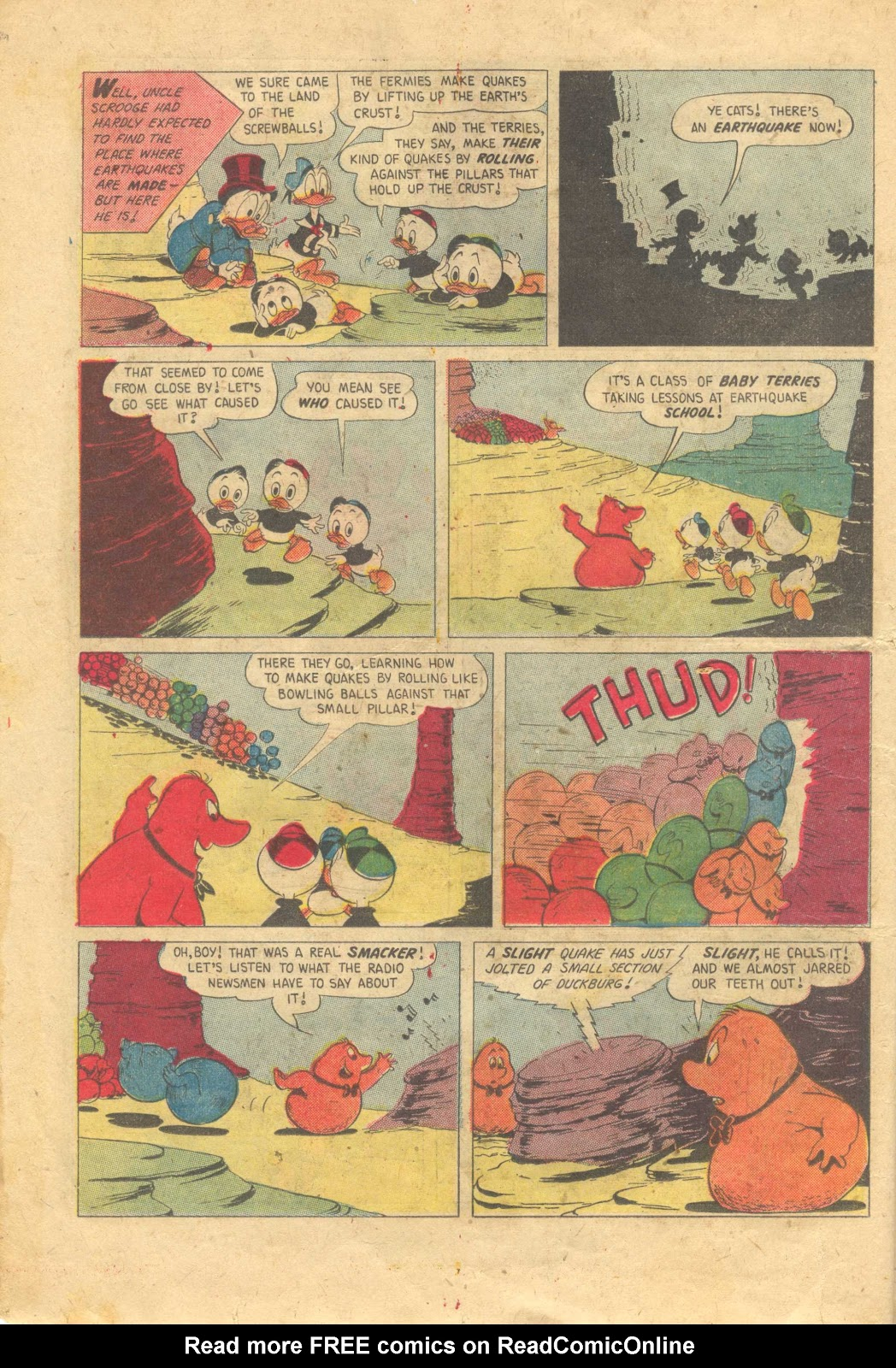 Uncle Scrooge (1953) Issue #13 #13 - English 14