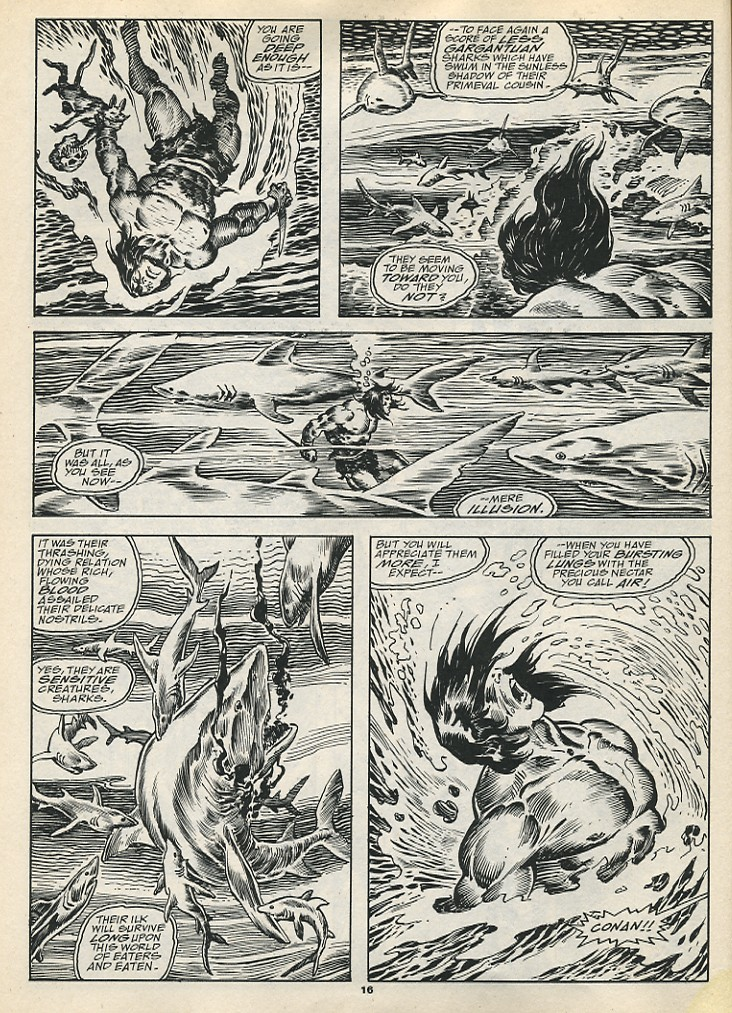 The Savage Sword Of Conan Issue #192 #193 - English 18