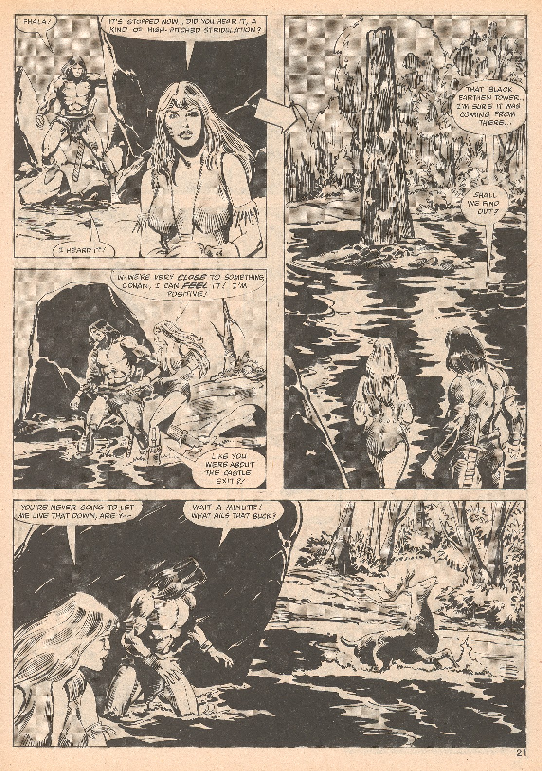 The Savage Sword Of Conan Issue #70 #71 - English 21