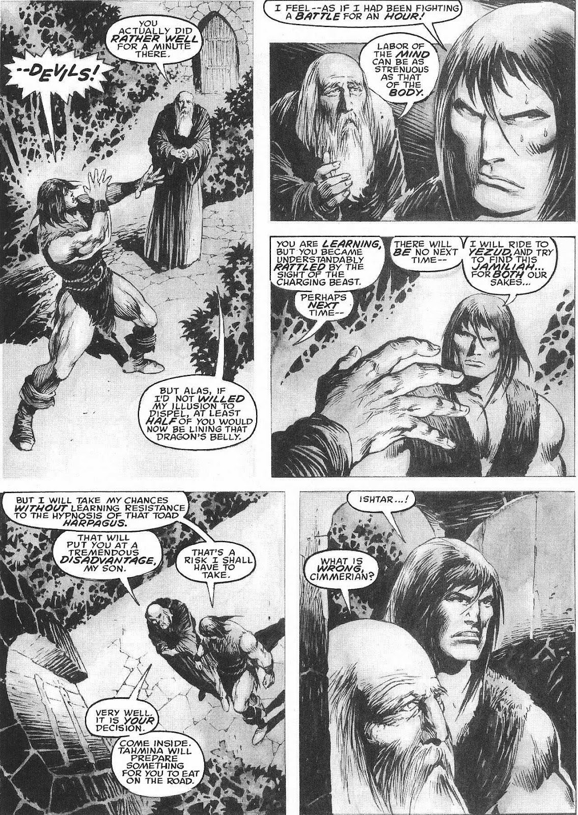 The Savage Sword Of Conan Issue #207 #208 - English 44