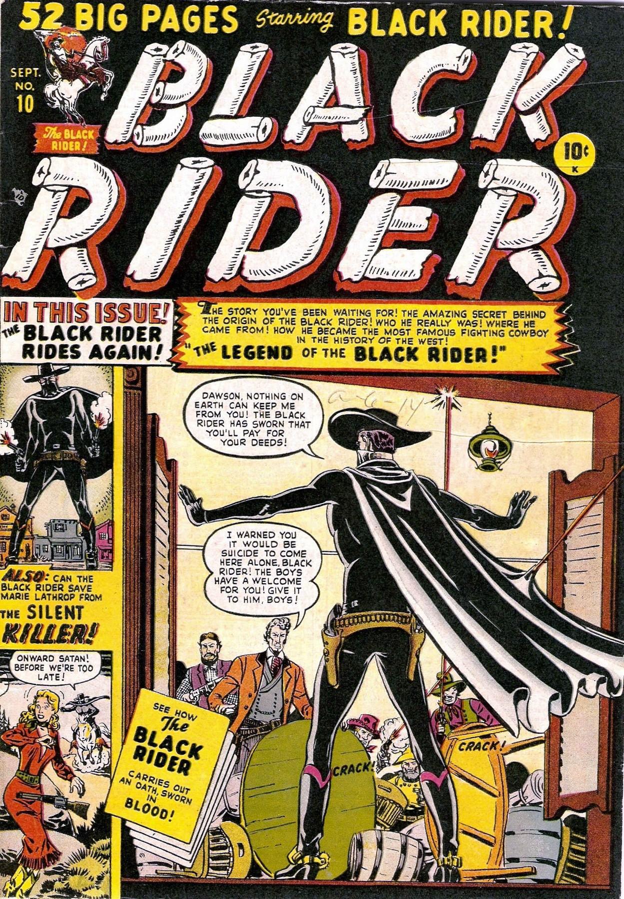 Black Rider 10 Page 1