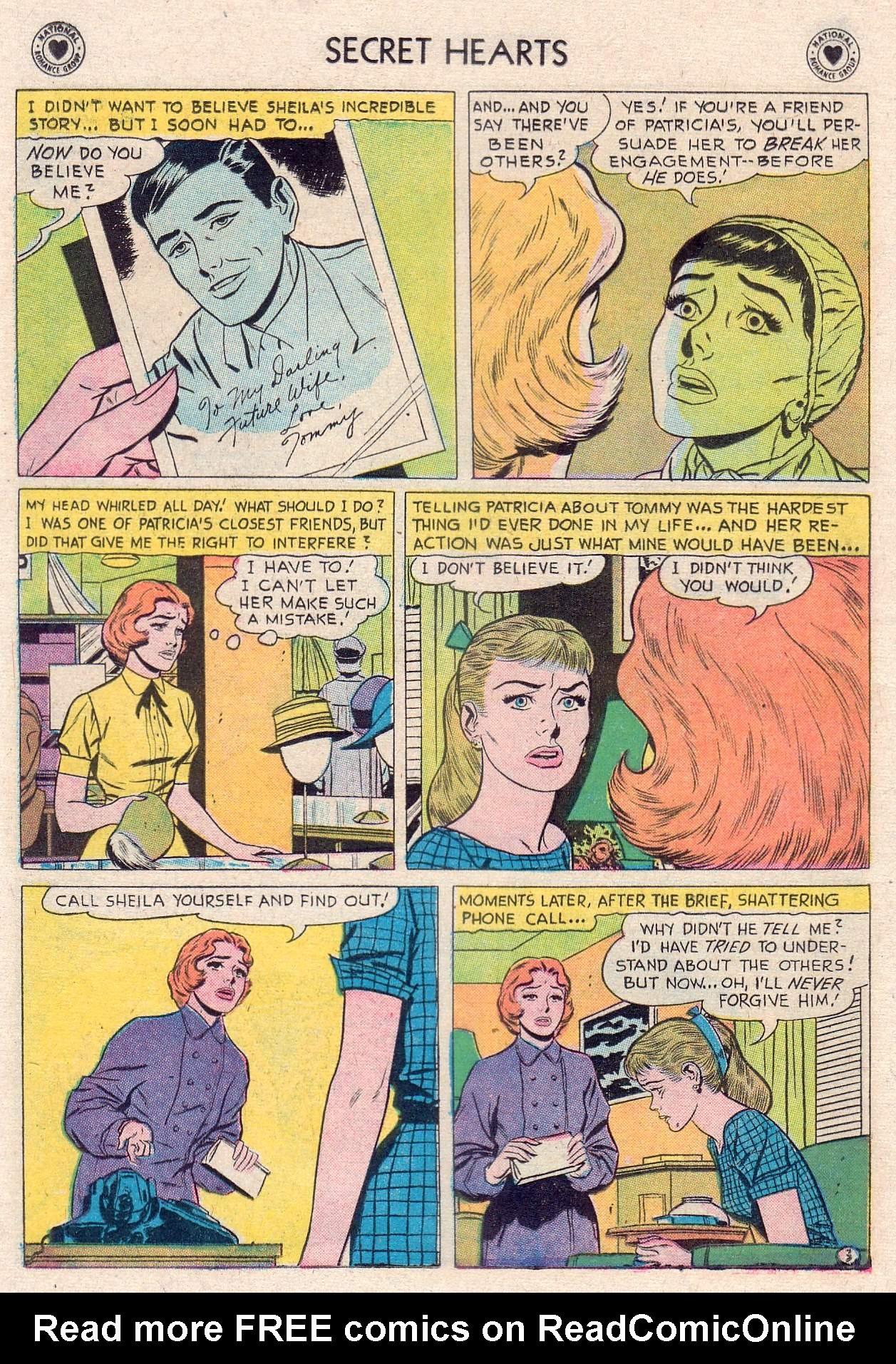 Read online Secret Hearts comic -  Issue #46 - 12