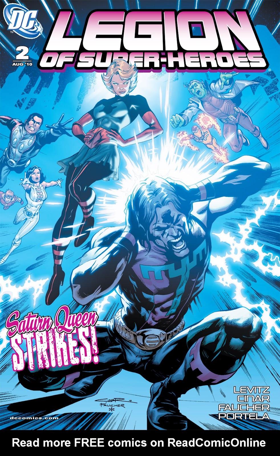 Legion of Super-Heroes (2010) Issue #2 #3 - English 1
