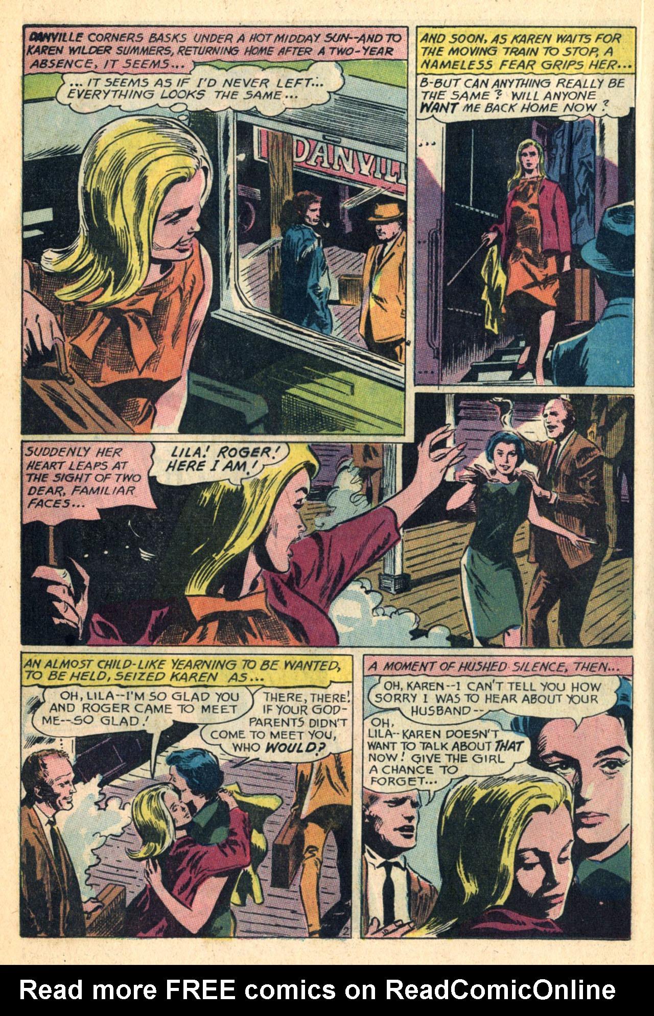 Read online Secret Hearts comic -  Issue #110 - 20