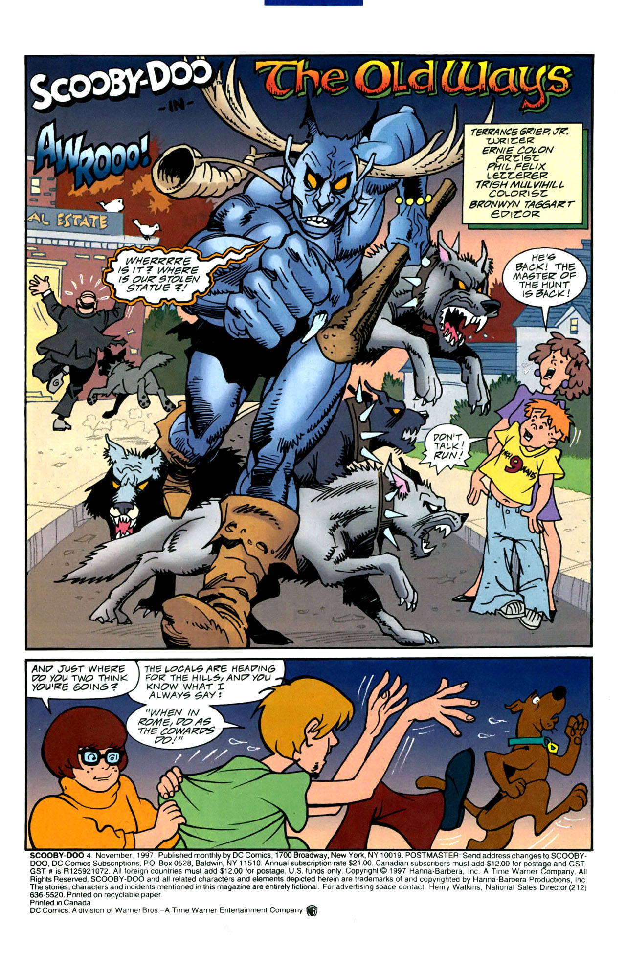 Read online Scooby-Doo (1997) comic -  Issue #4 - 2