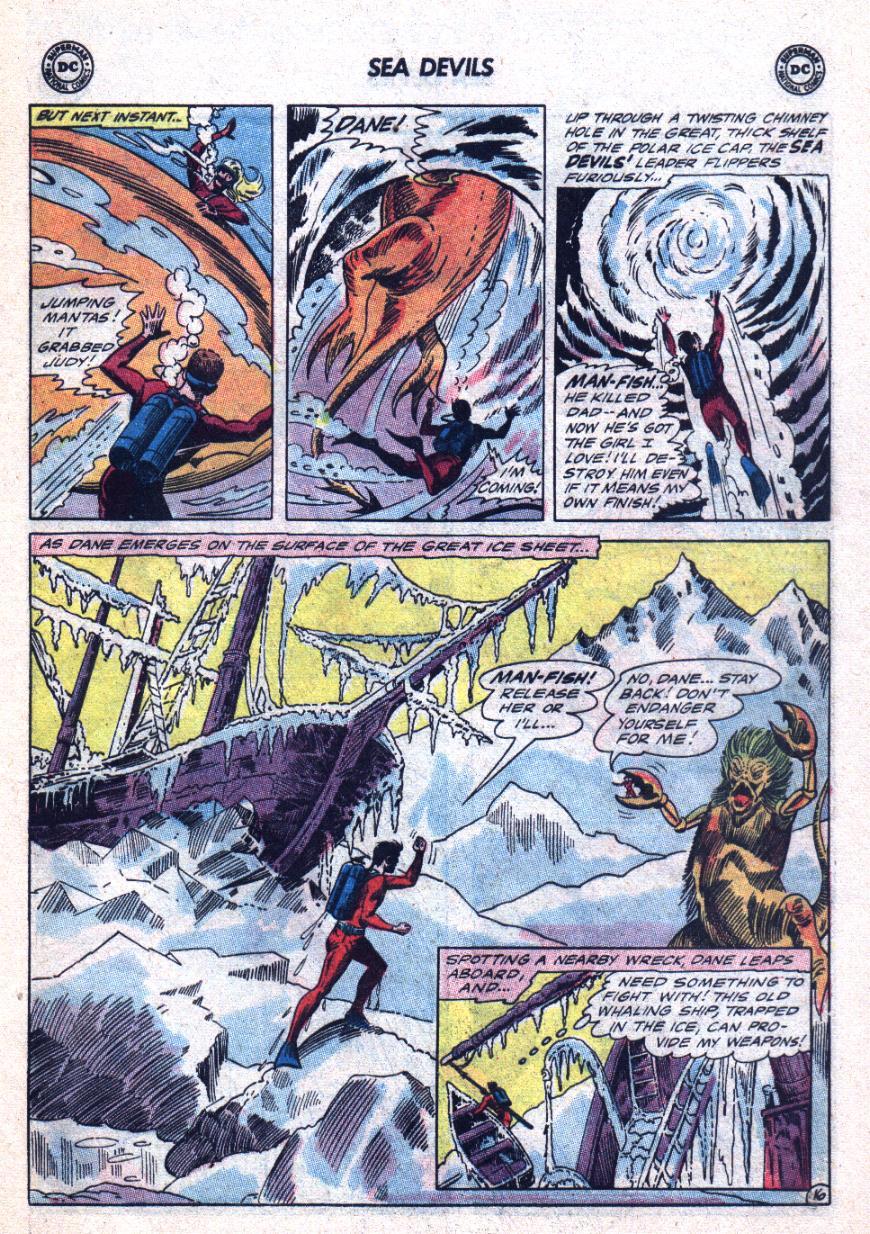 Read online Sea Devils comic -  Issue #24 - 22