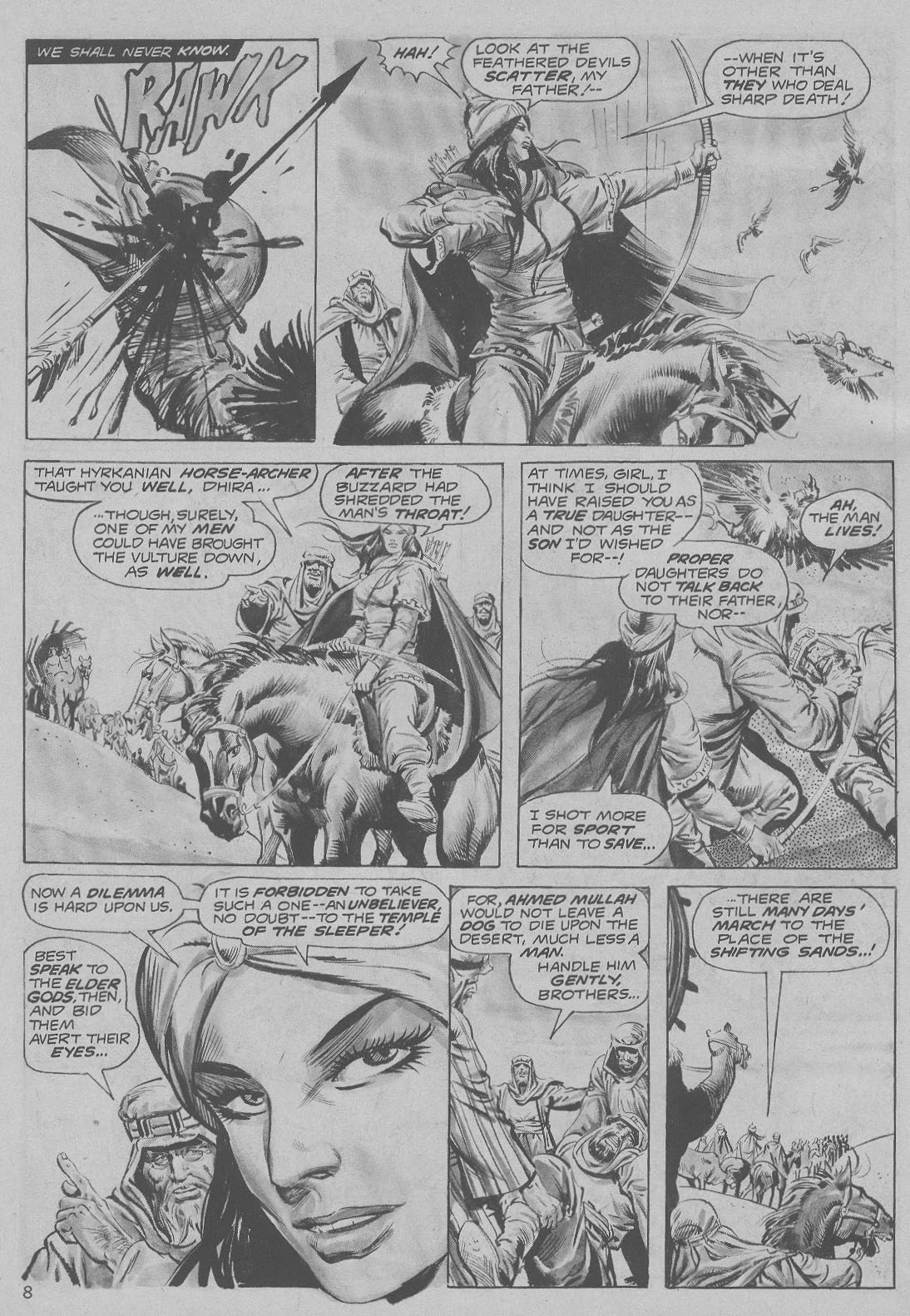 The Savage Sword Of Conan Issue #6 #7 - English 8
