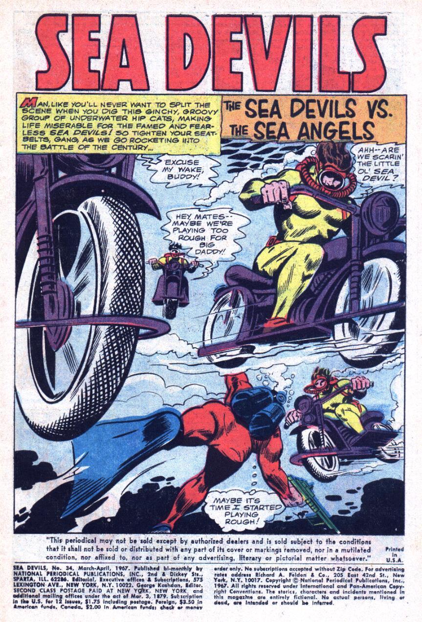 Read online Sea Devils comic -  Issue #34 - 4