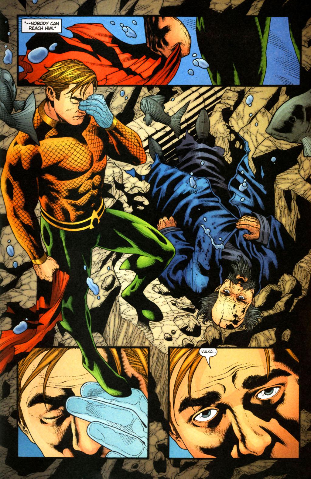Read online Aquaman (2003) comic -  Issue #38 - 6