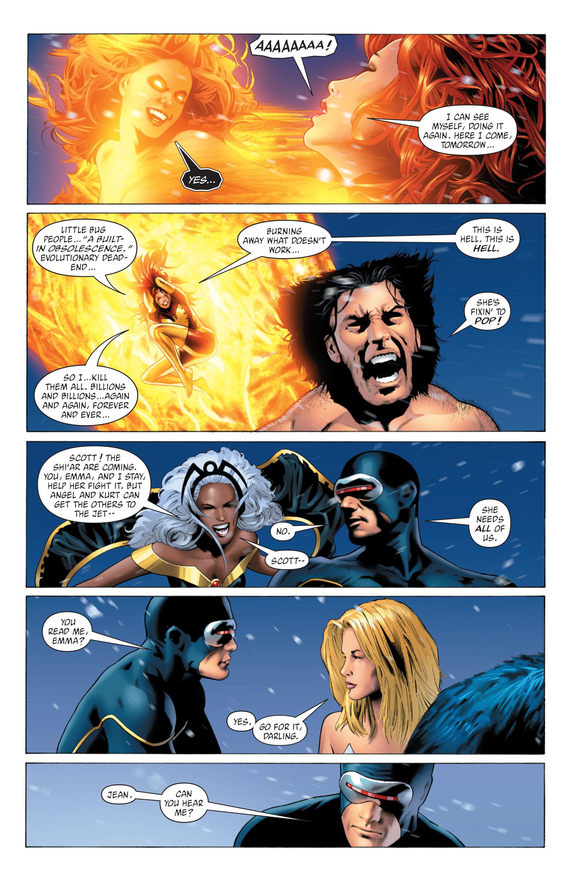 Read online X-Men: Phoenix - Endsong comic -  Issue #5 - 16