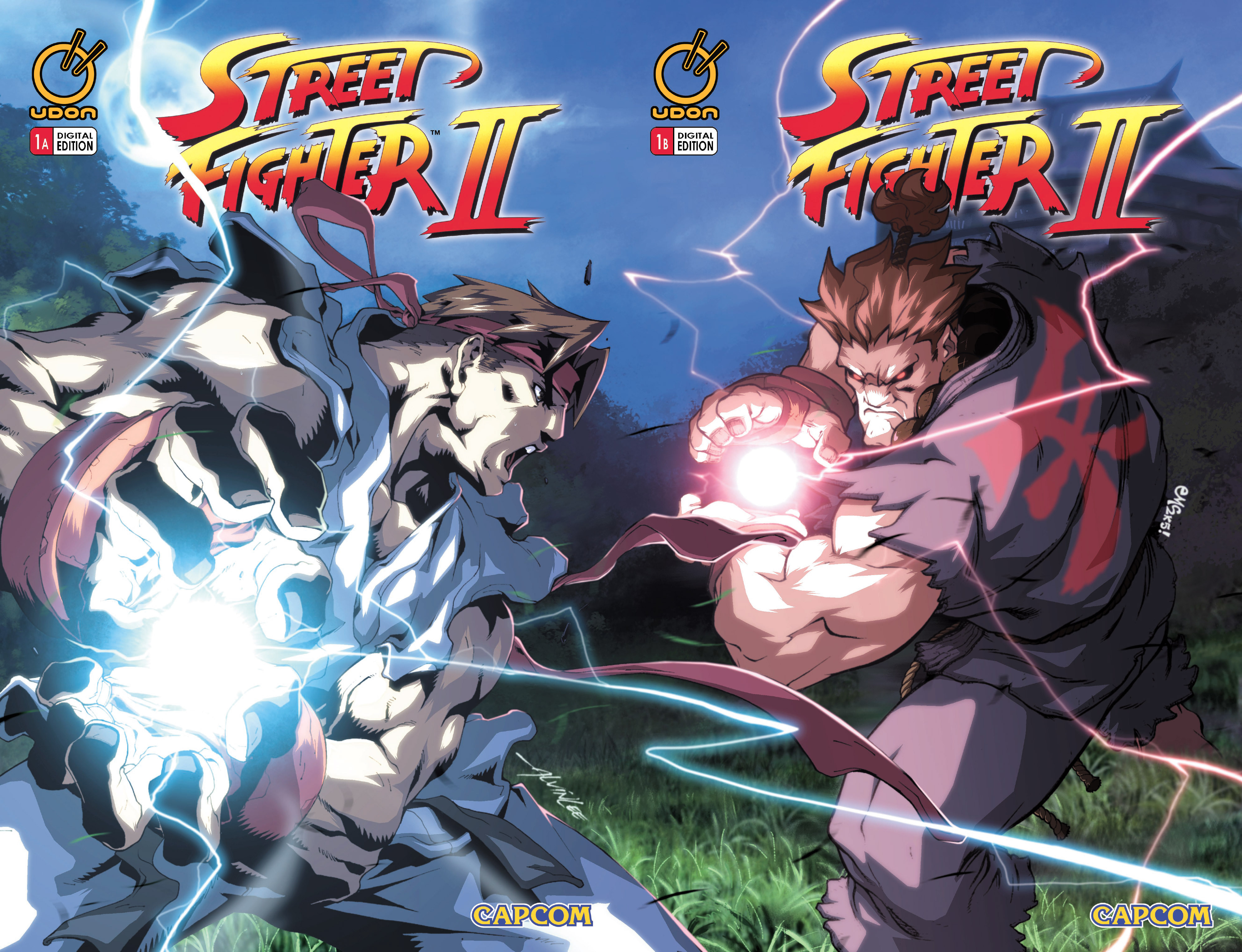 Street Fighter II chap 1 pic 3