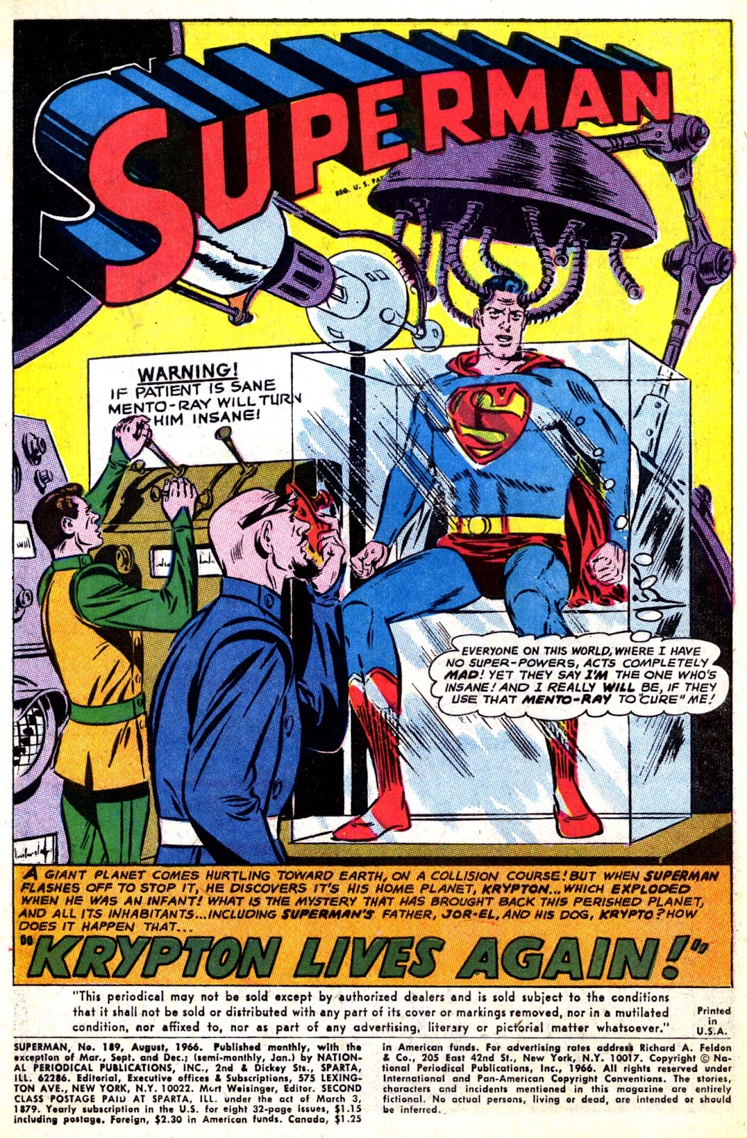 Comic Superman (1939) issue 203 on