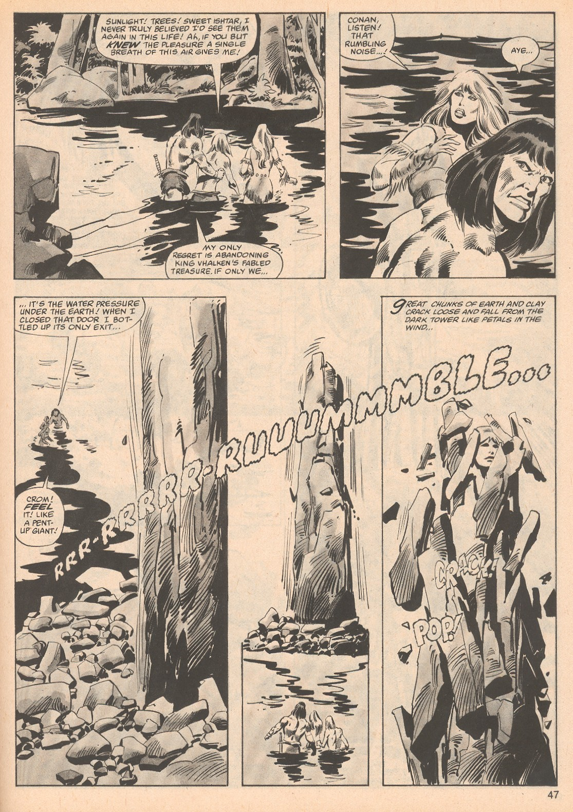 The Savage Sword Of Conan Issue #70 #71 - English 47