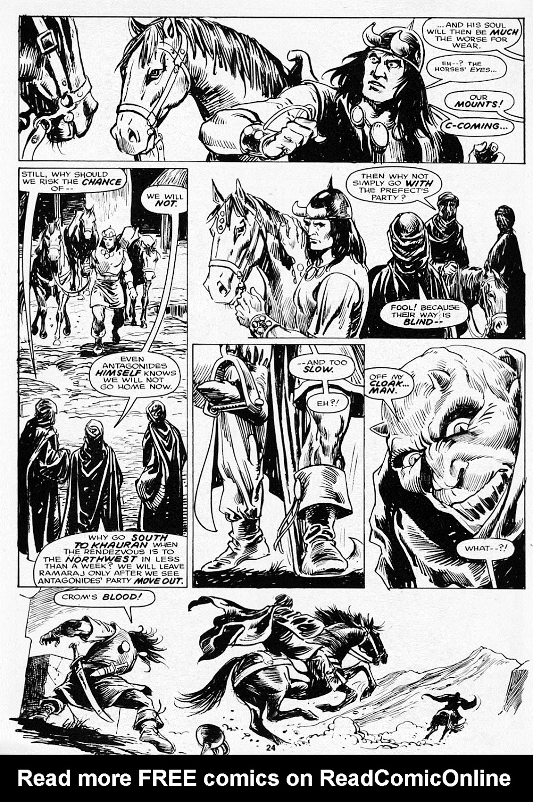 The Savage Sword Of Conan Issue #180 #181 - English 26